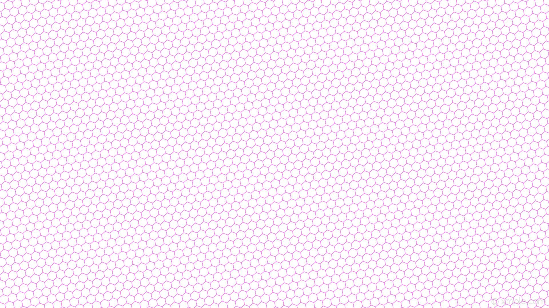 wallpaper beehive white hexagon honeycomb purple violet #ffffff #ee82ee  diagonal 10° 2px 30px