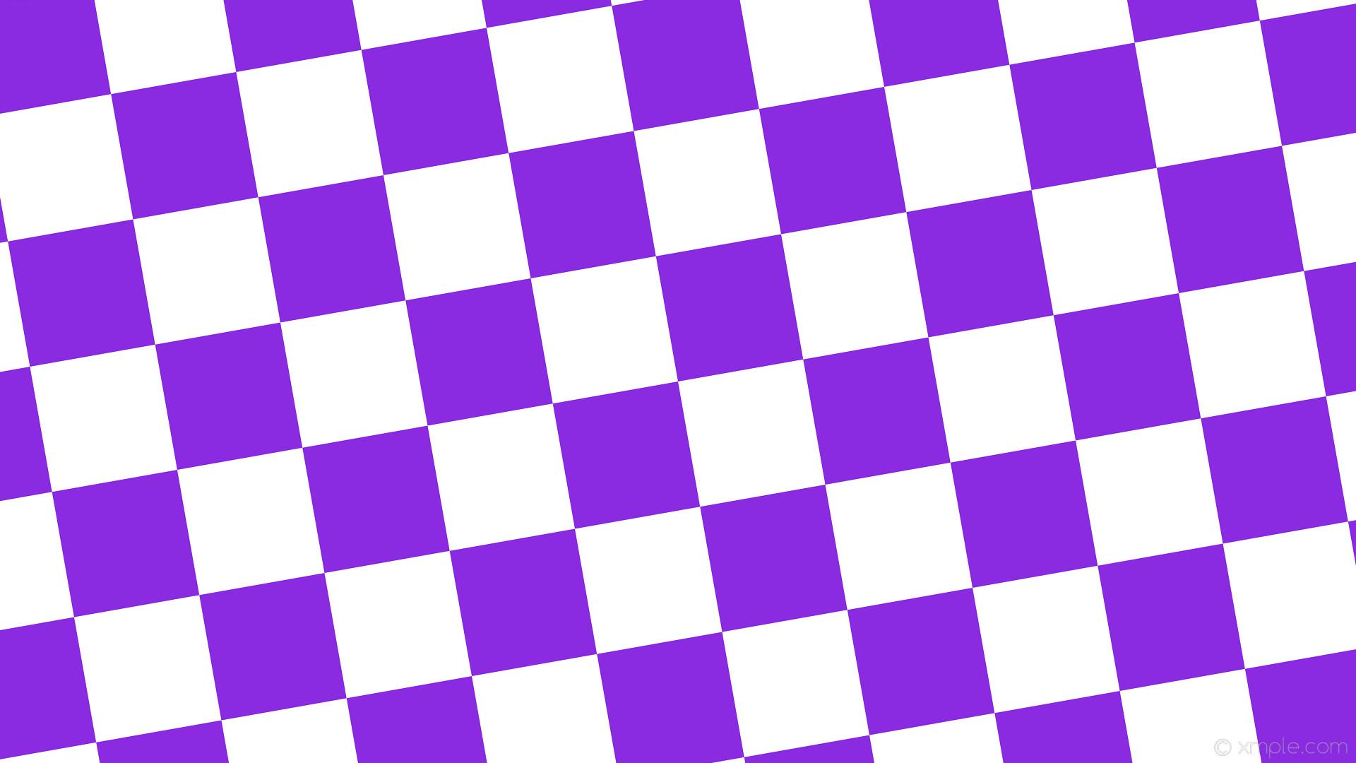 wallpaper white purple checkered squares blue violet #ffffff #8a2be2  diagonal 10° 180px