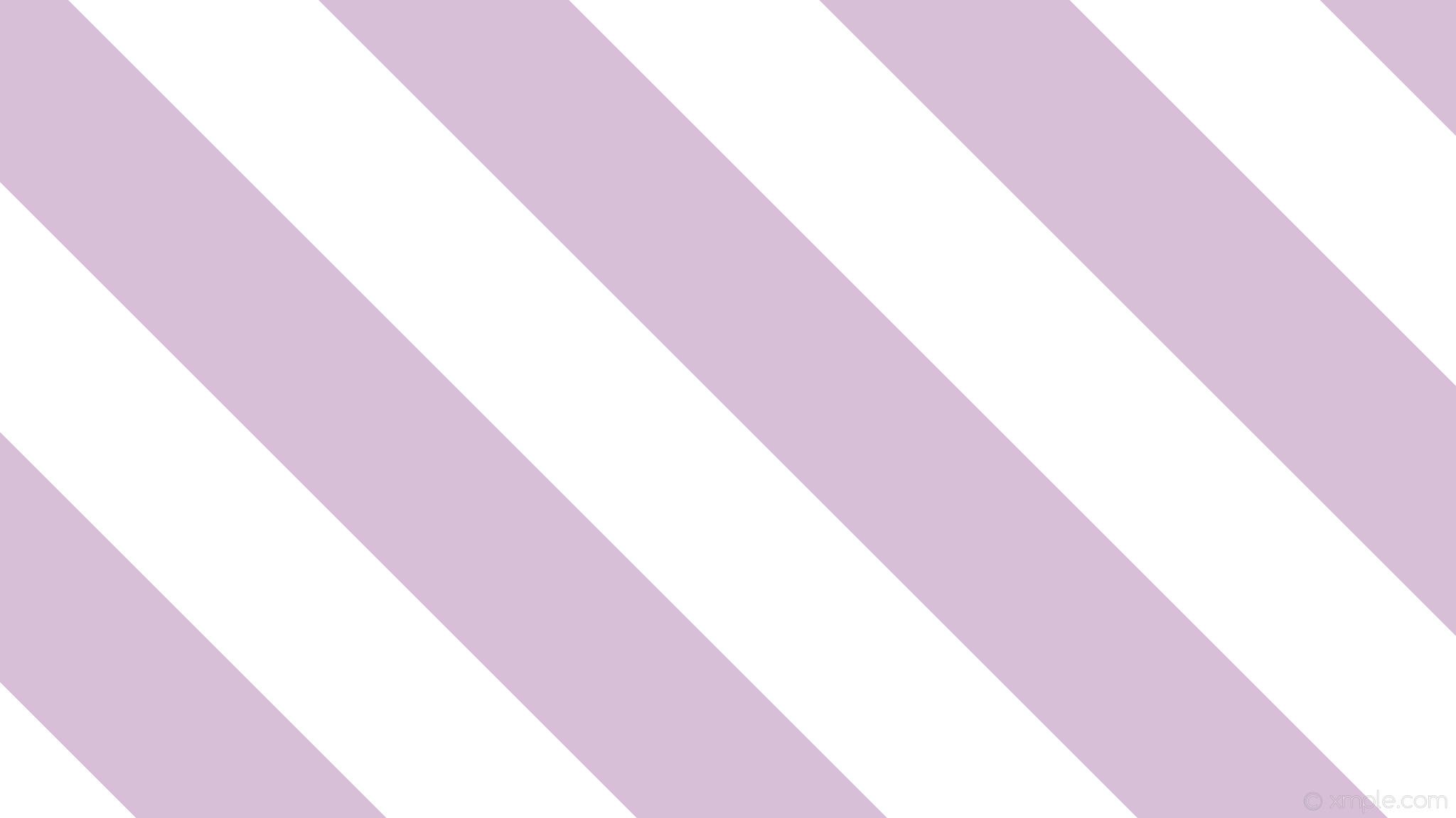 wallpaper white purple stripes streaks lines thistle #ffffff #d8bfd8  diagonal 315° 249px