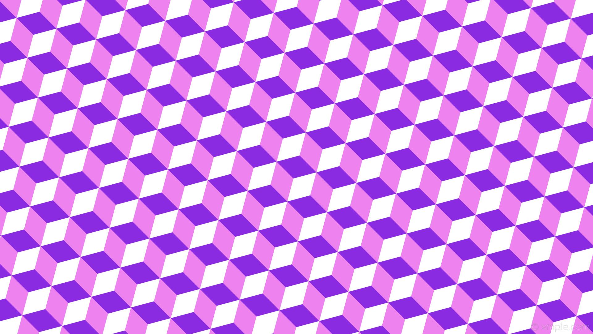 wallpaper purple white 3d cubes blue violet violet #8a2be2 #ee82ee #ffffff  165°