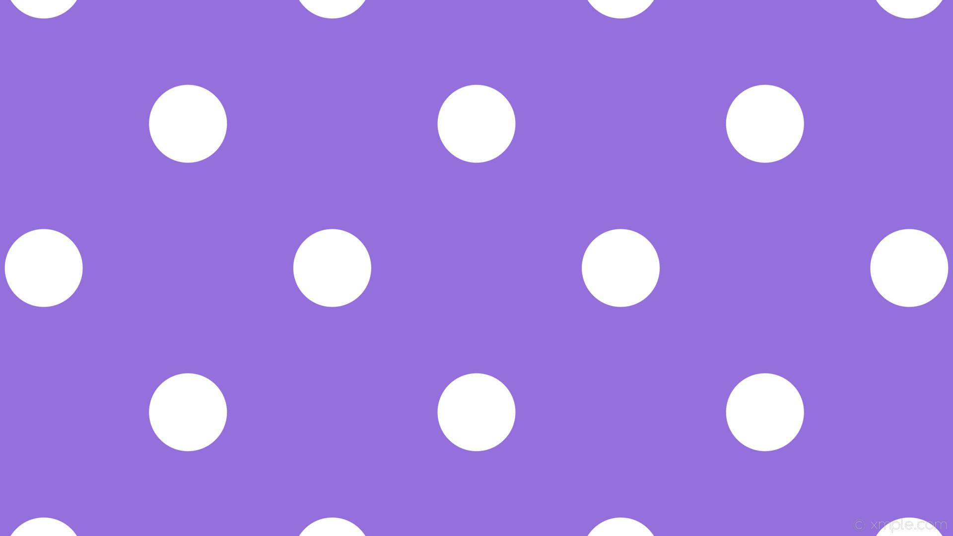 wallpaper purple white dots polka spots medium purple #9370db #ffffff 45°  157px 411px