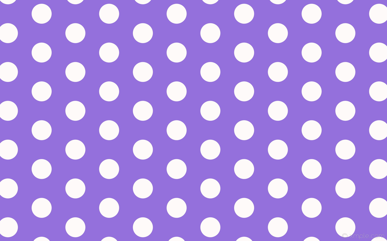Purple And White Polka Dot Wallpaper