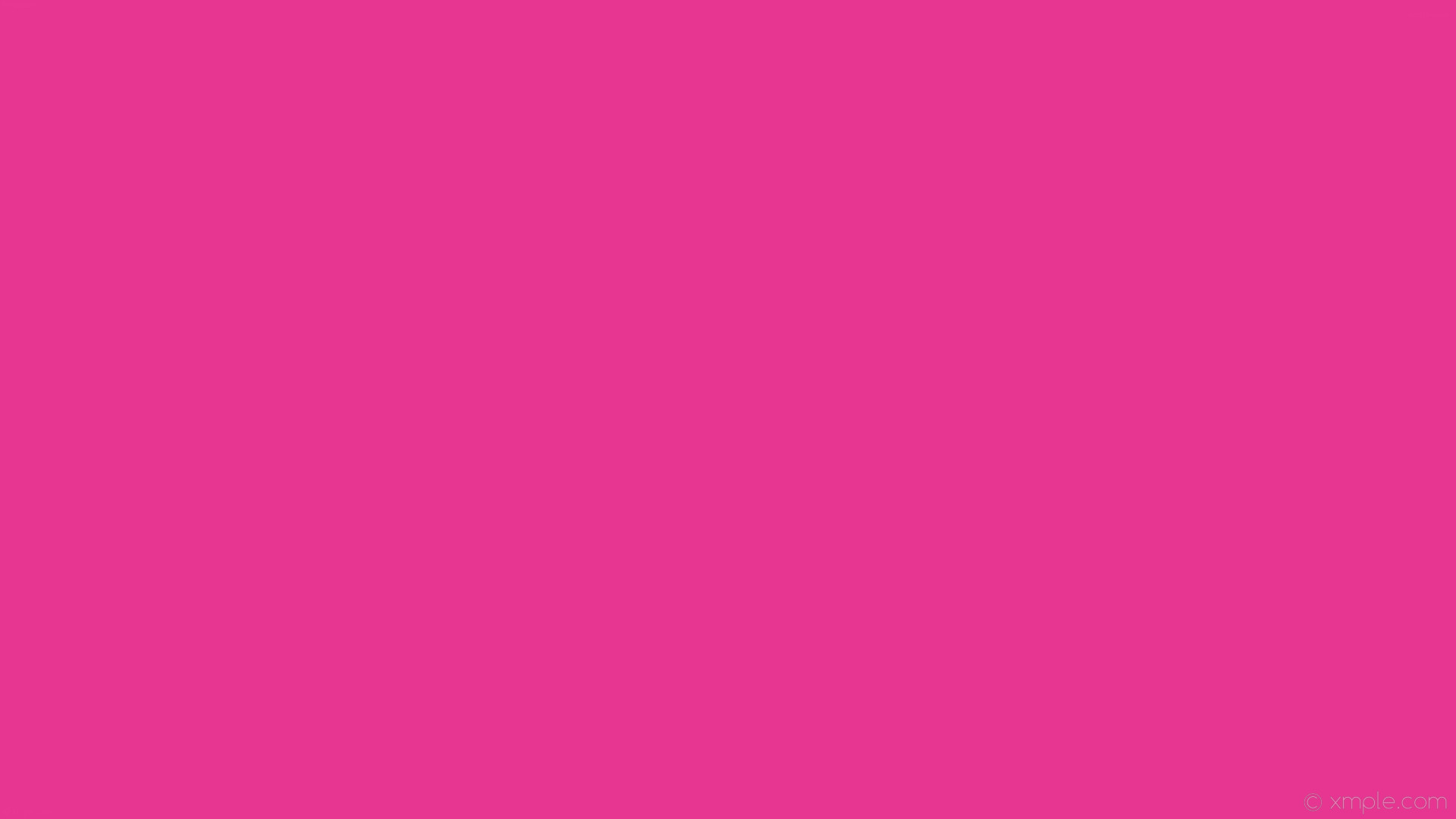 wallpaper single plain solid color pink one colour #e73692