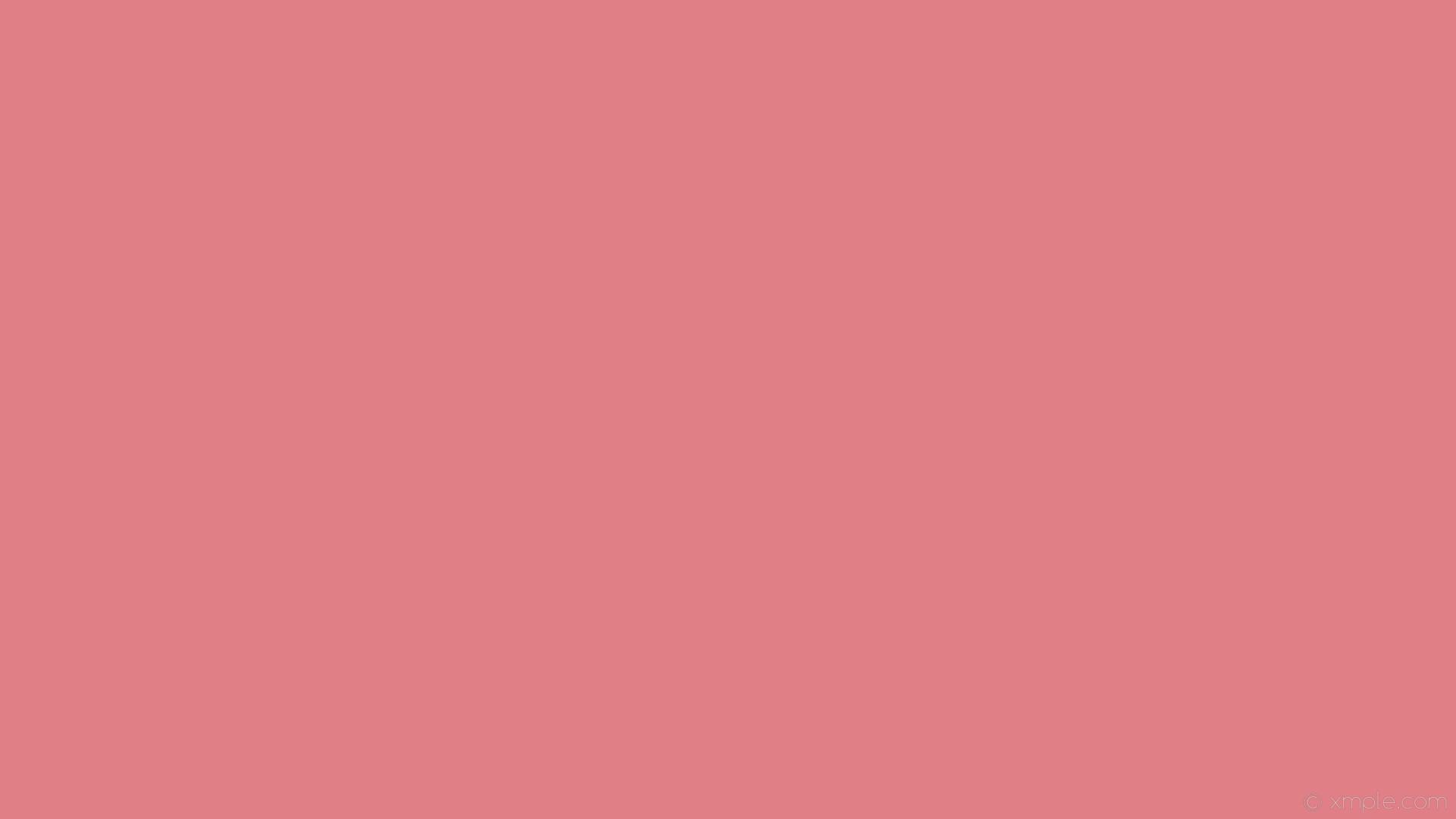 wallpaper solid color plain one colour single red #e07f86
