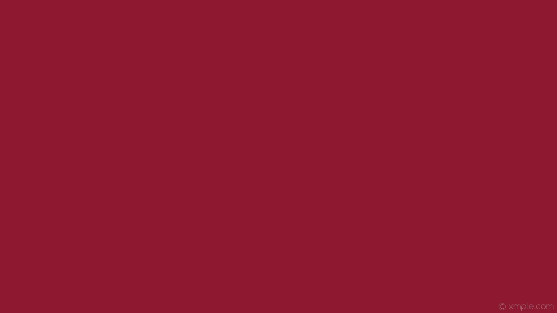 wallpaper single plain red one colour solid color #8d1830