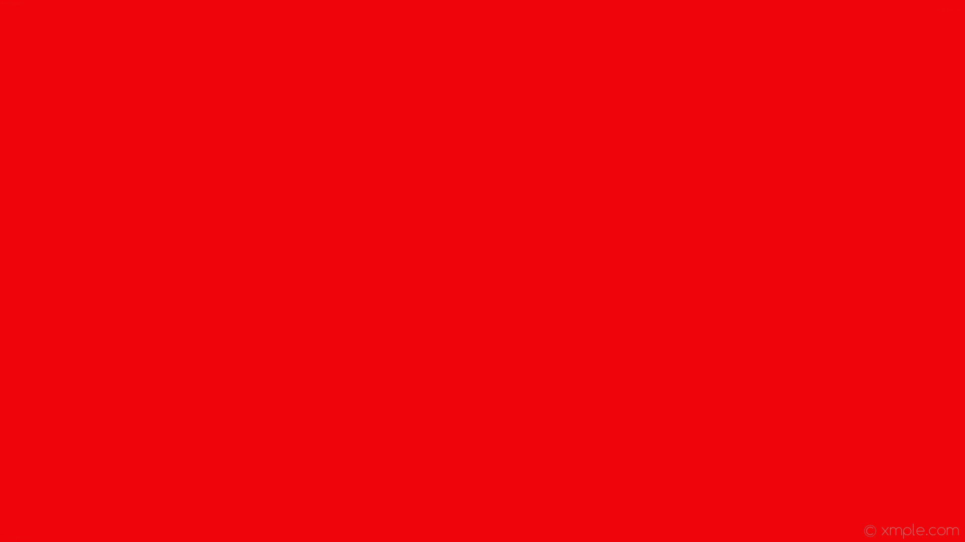 wallpaper plain solid color red one colour single #ee040a