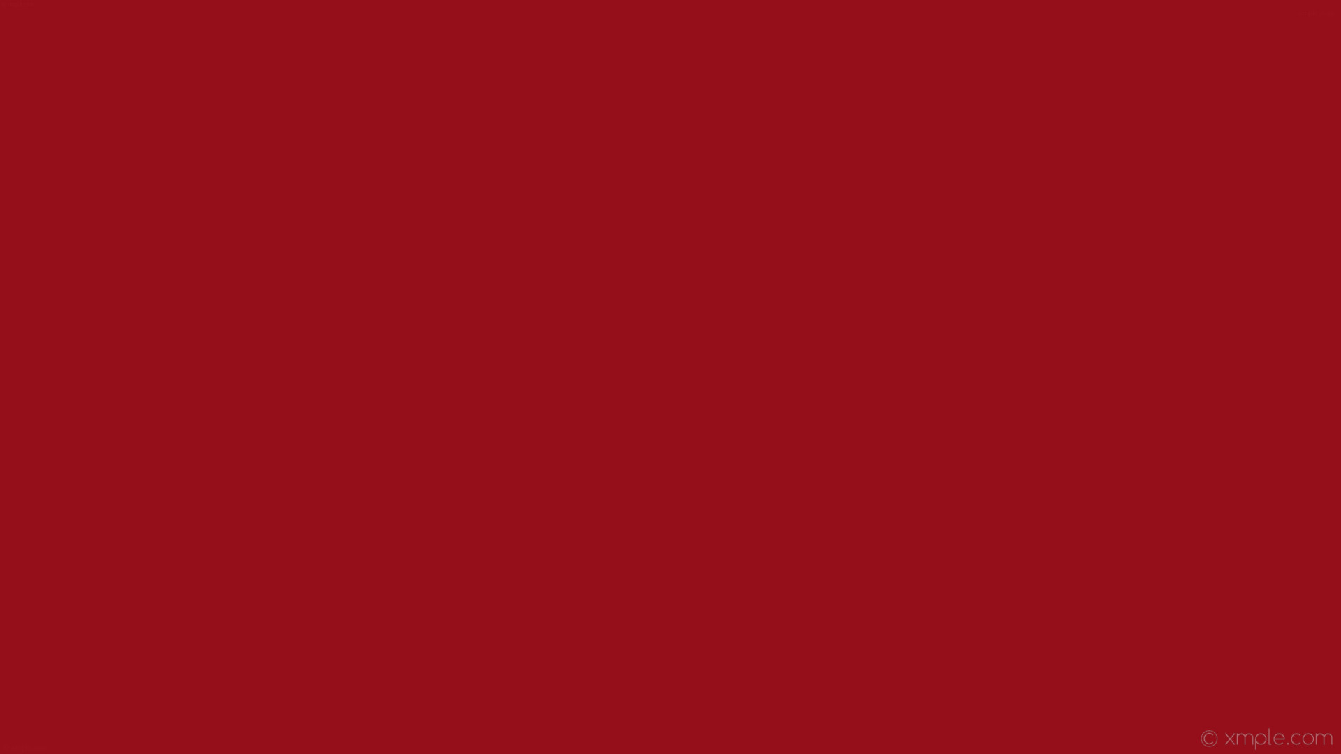 wallpaper single plain red solid color one colour #950f1a