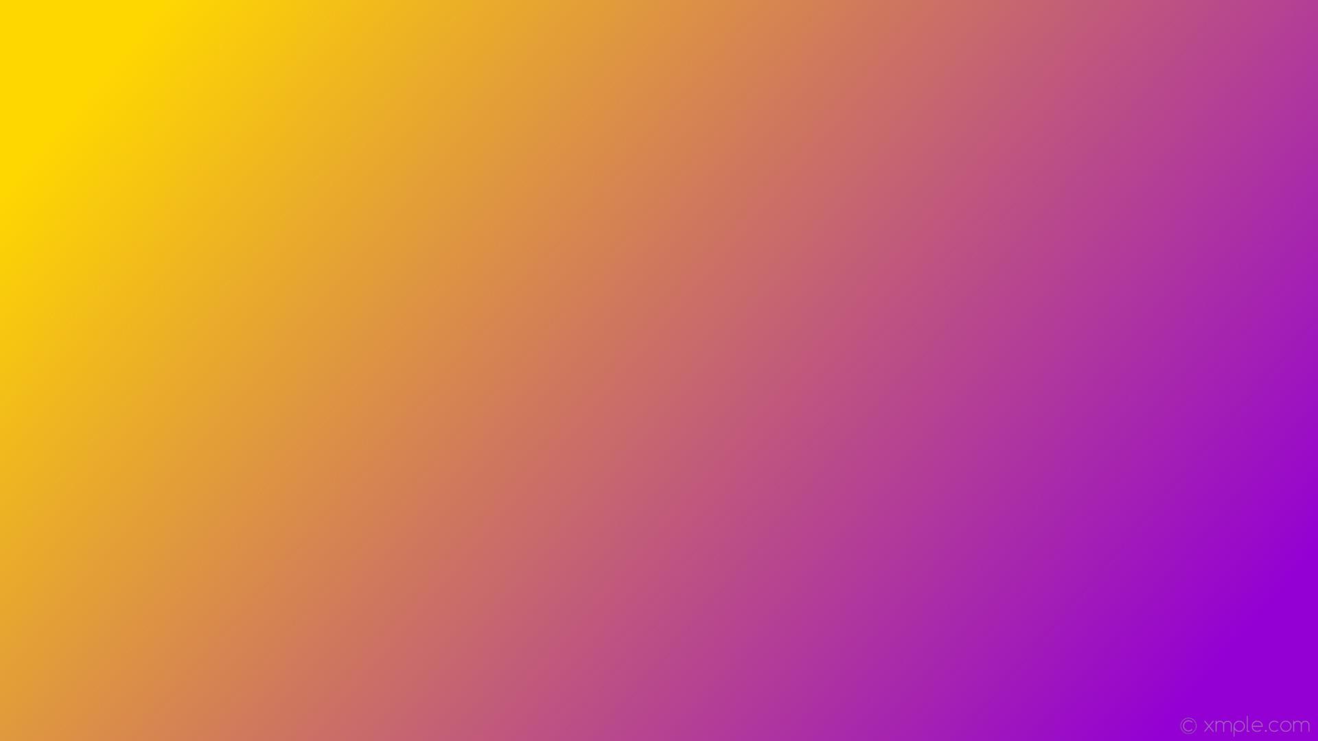 wallpaper yellow gradient linear purple gold dark violet #ffd700 #9400d3  165°