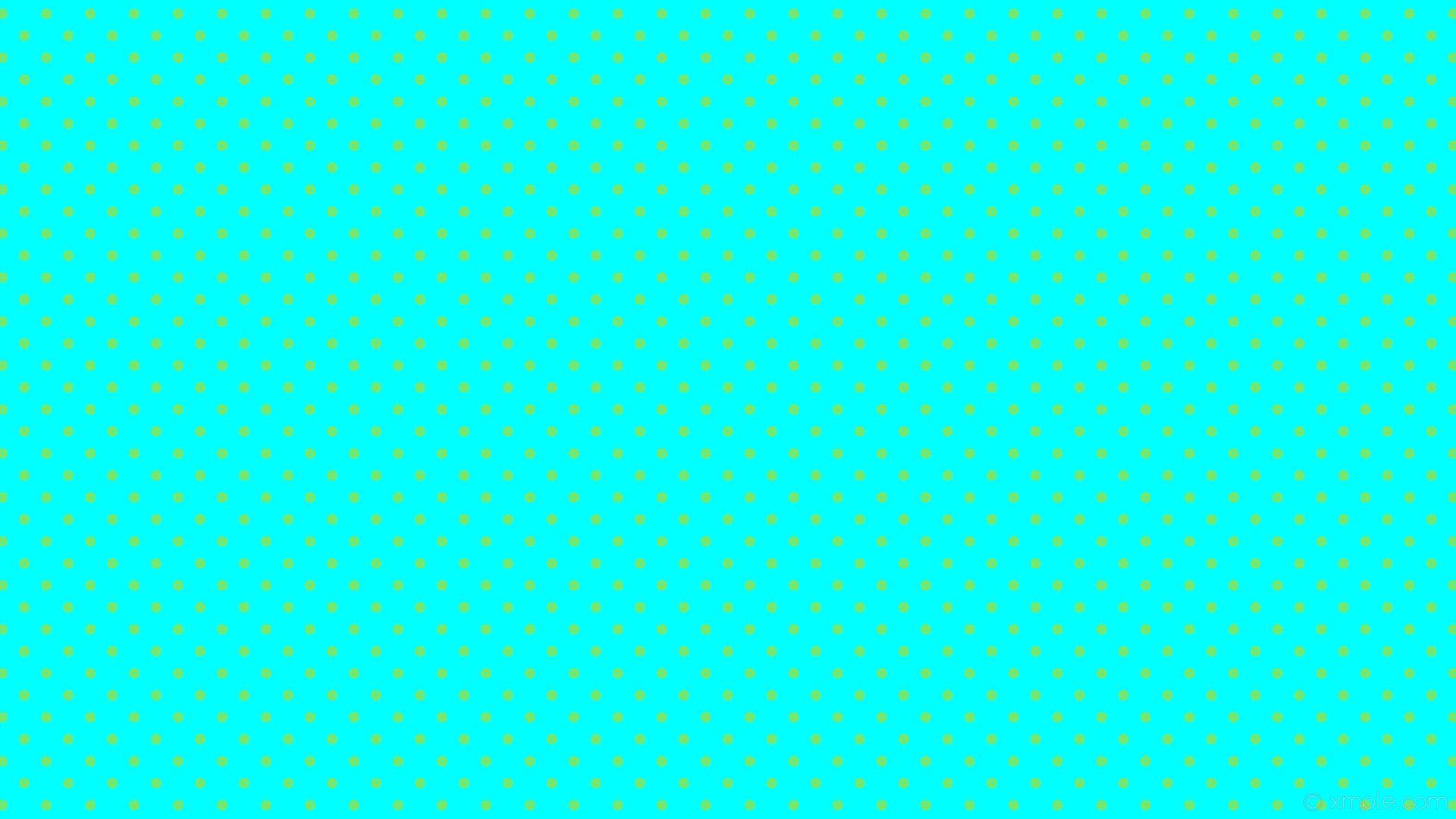 wallpaper dots blue green polka spots aqua cyan #00ffff #72e874 225° 14px  41px