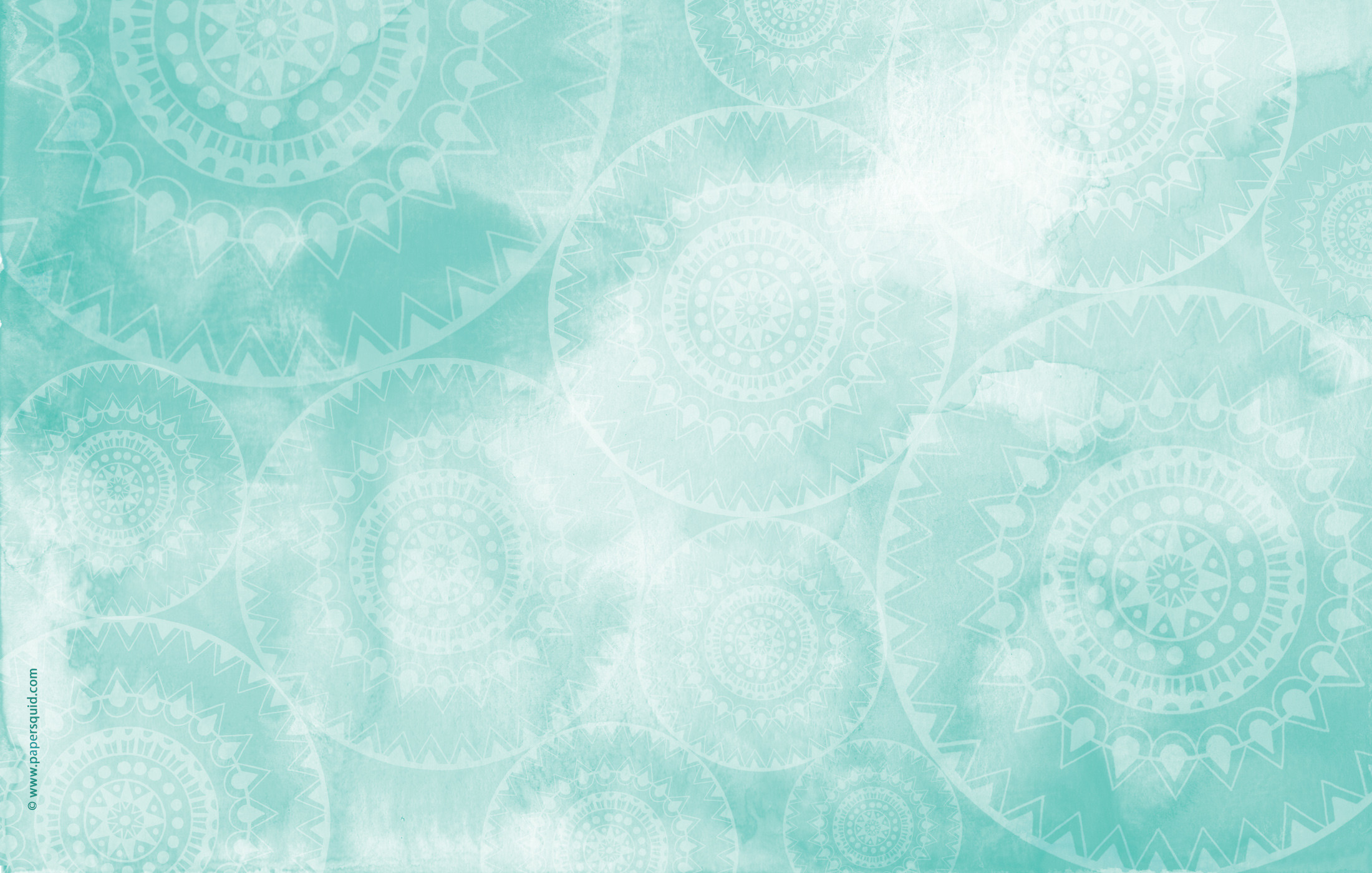 Paper Squid ❤: AUGUST'S MANDALA INSPIRED DESKTOP WALLPAPER
