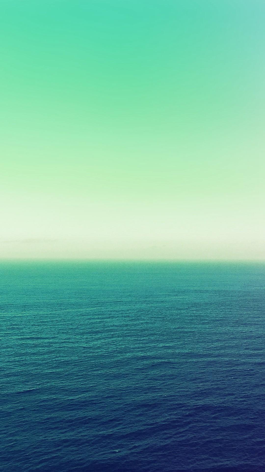 Calm Sea Green Ocean Water Summer Day Nature #iPhone #6 #wallpaper