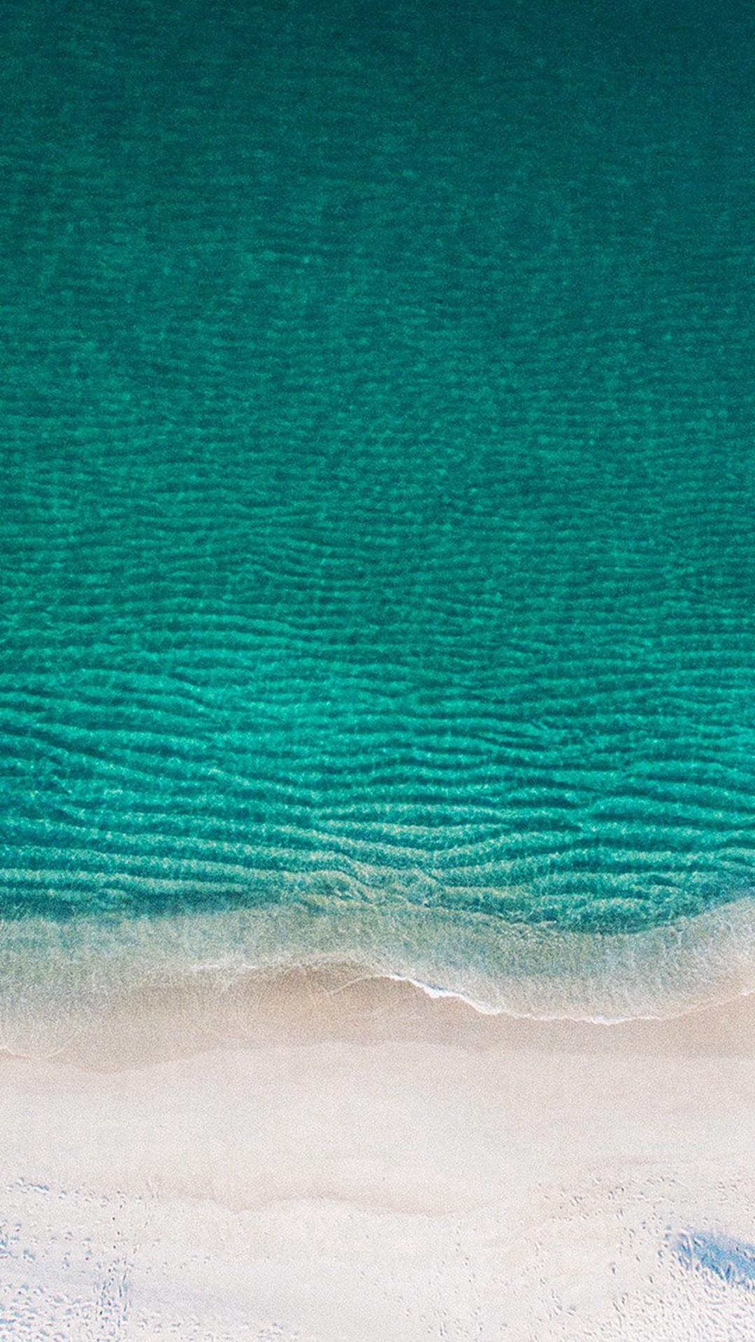 Sea Ocean Green Minimal Nature Wave Earth #iPhone #6 #plus #wallpaper