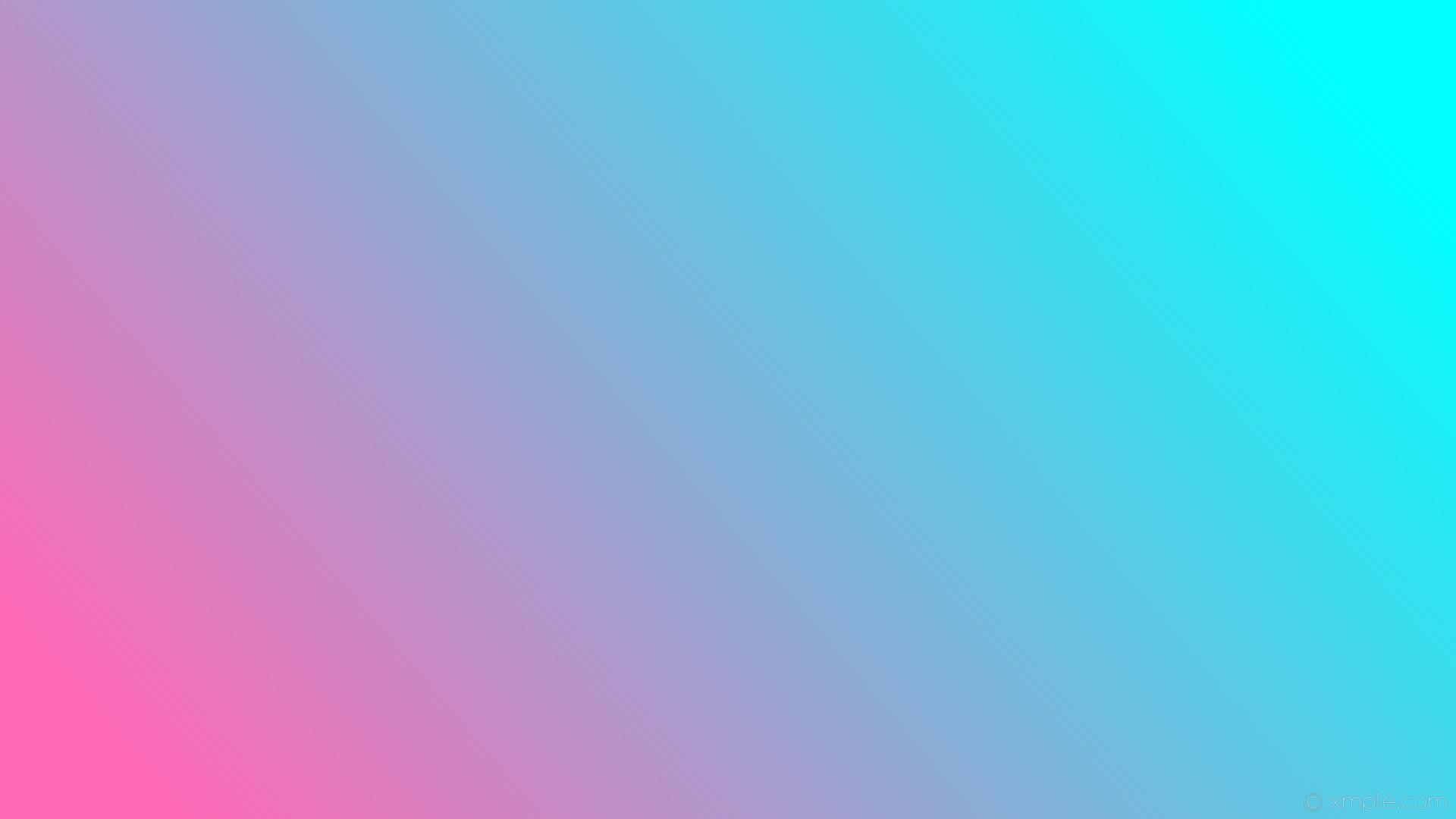 wallpaper blue linear gradient pink aqua cyan hot pink #00ffff #ff69b4 15°
