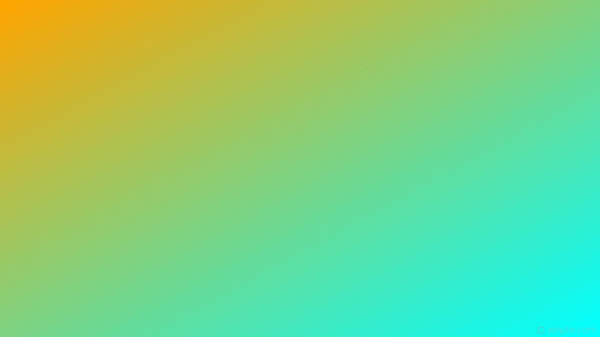 wallpaper gradient blue linear orange aqua cyan #ffa500 #00ffff 150°
