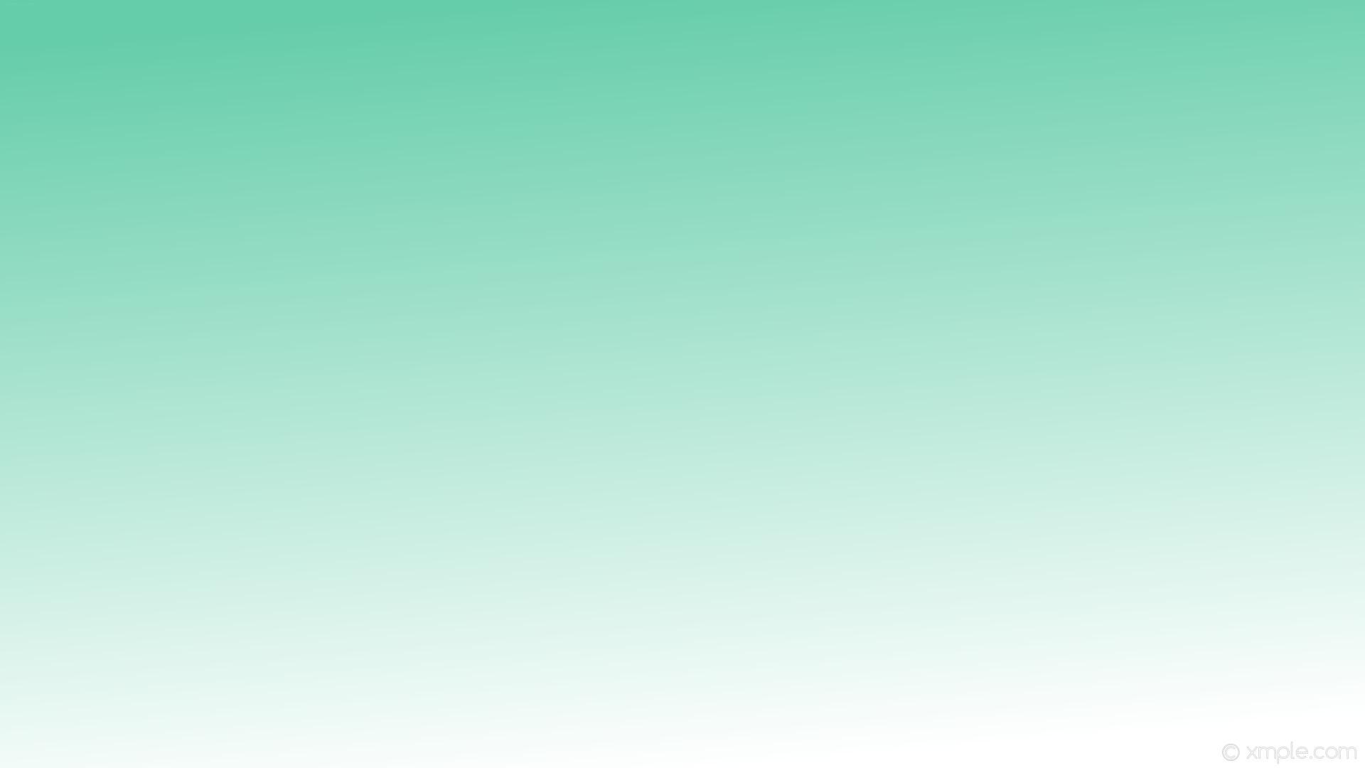 wallpaper white green linear gradient medium aquamarine #66cdaa #ffffff 105°