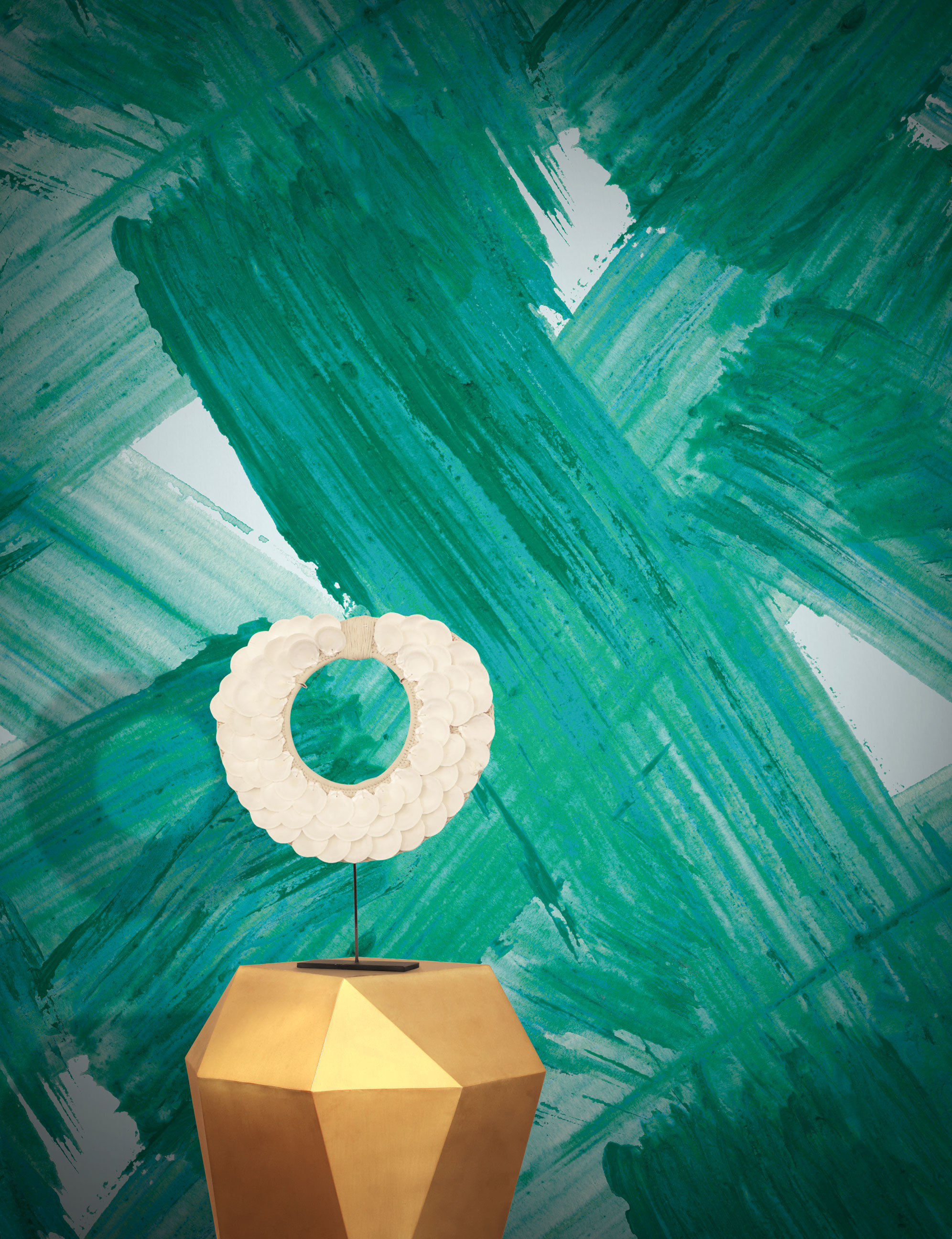 Plato Abstract Designer Wallpaper