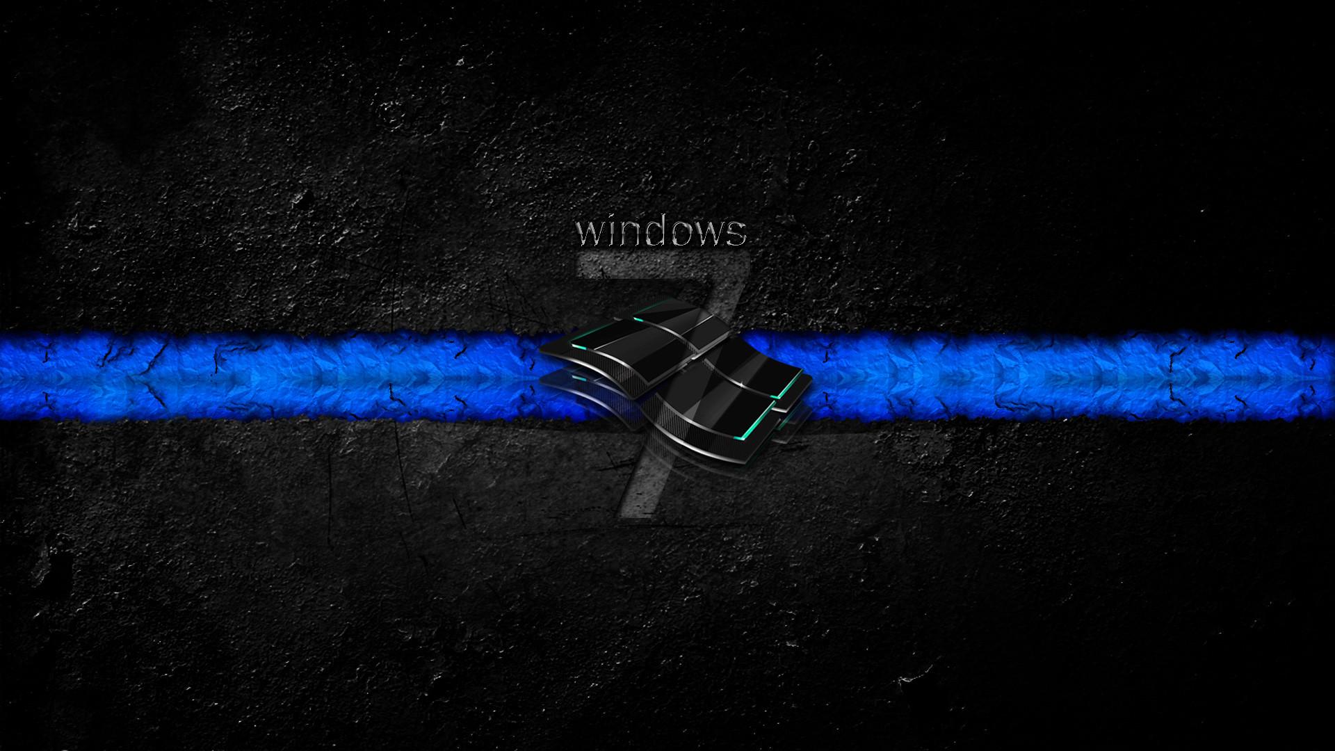 Windows 7 Dirty Dark