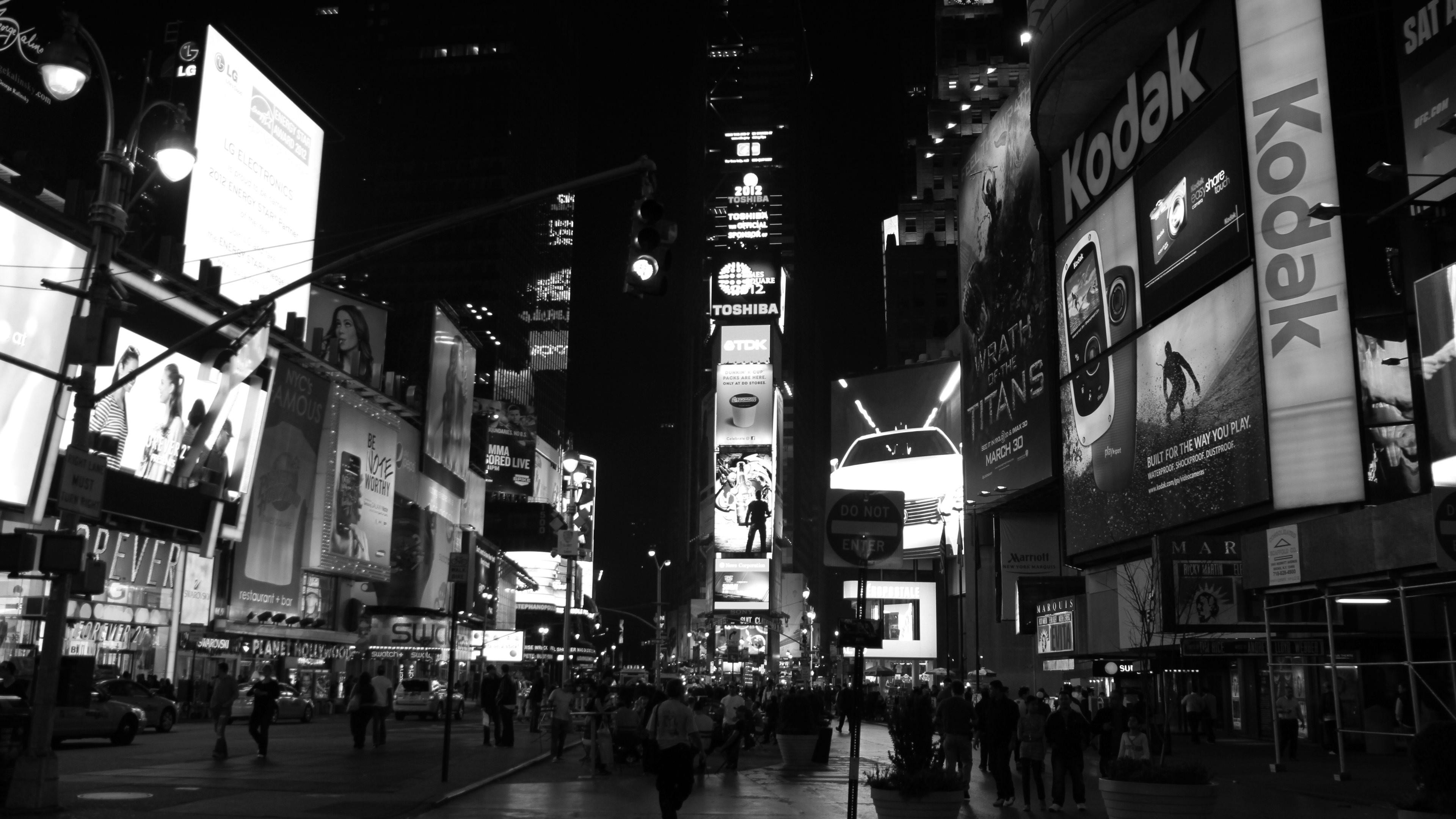 Wallpaper: Black and White. Ultra HD 4K 3840×2160