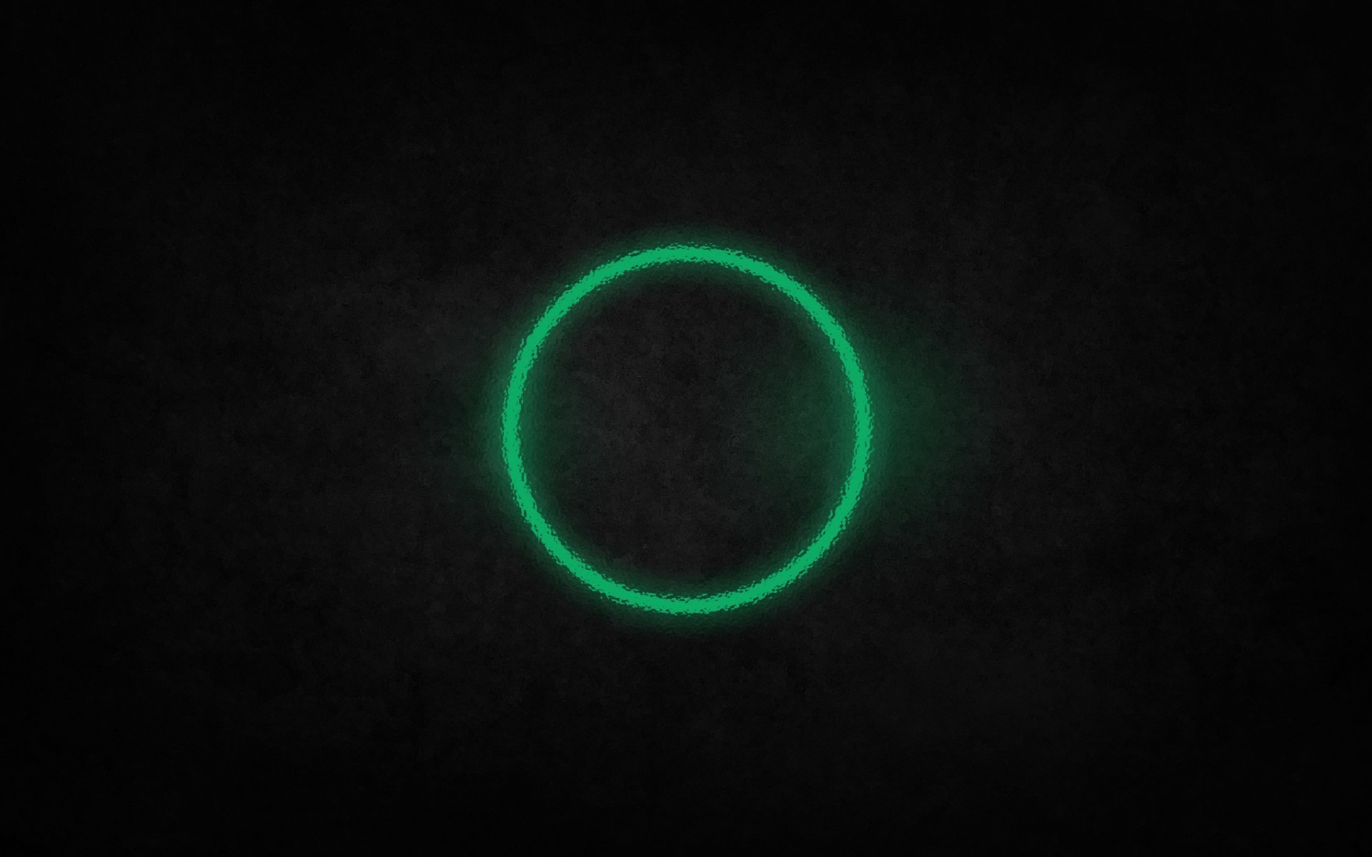 Green Circle of Light Behind Glass – Cool Wallpapers for desktop Background