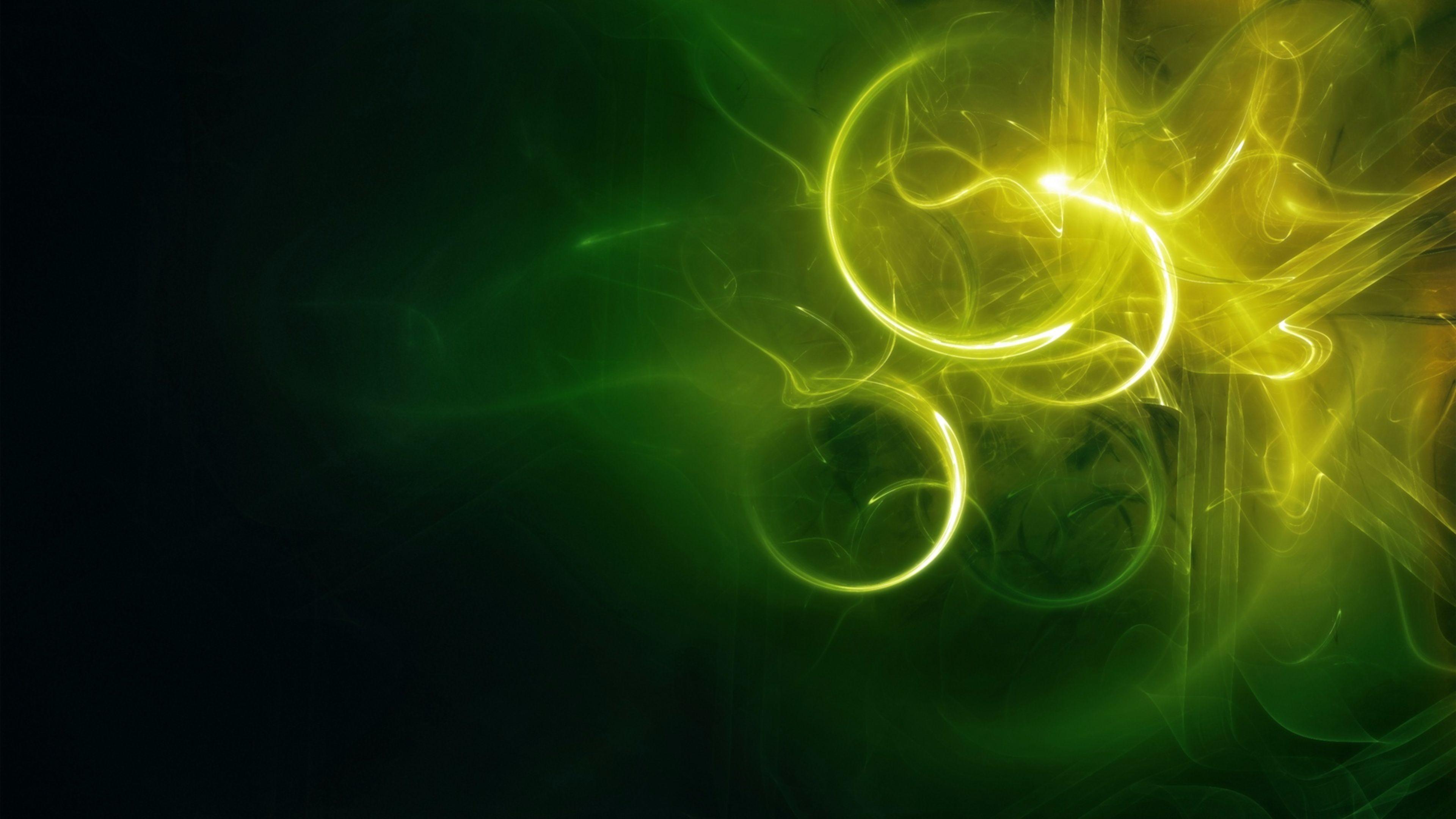 Shades of Green 4K Abstract Wallpapers