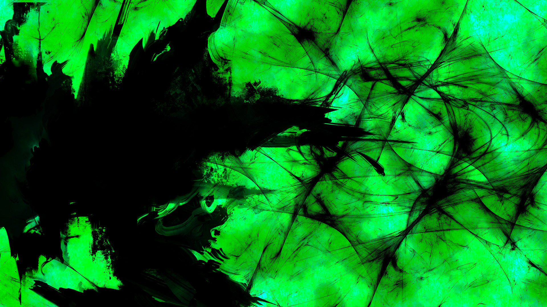 green abstract wallpaper by br8y16 customization wallpaper abstract .