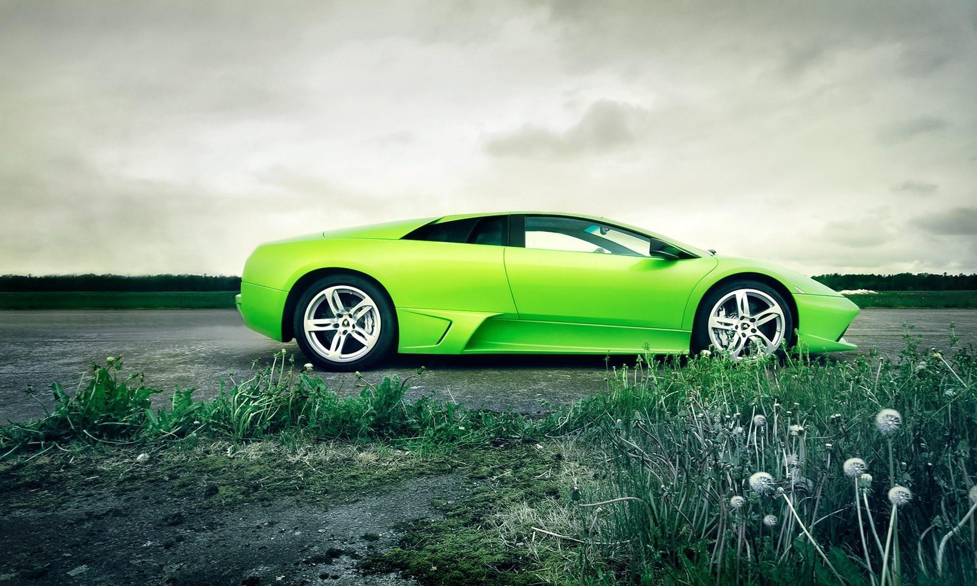 Cool Green Car