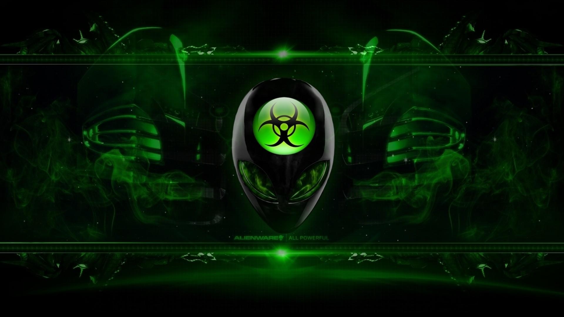Alienware wallpaper green 1495490   Chainimage
