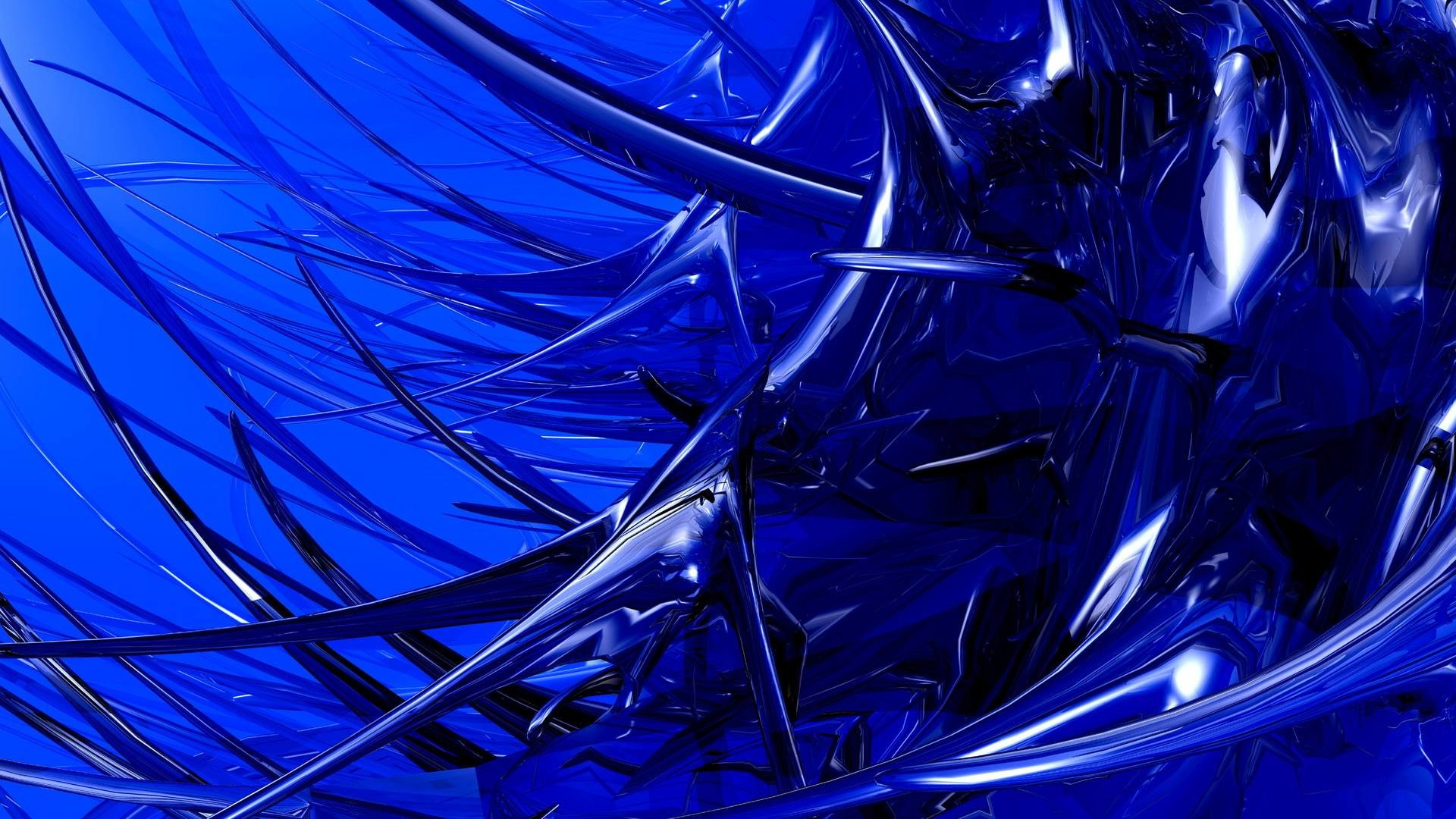 Wallpapers For > Navy Blue Abstract Wallpaper