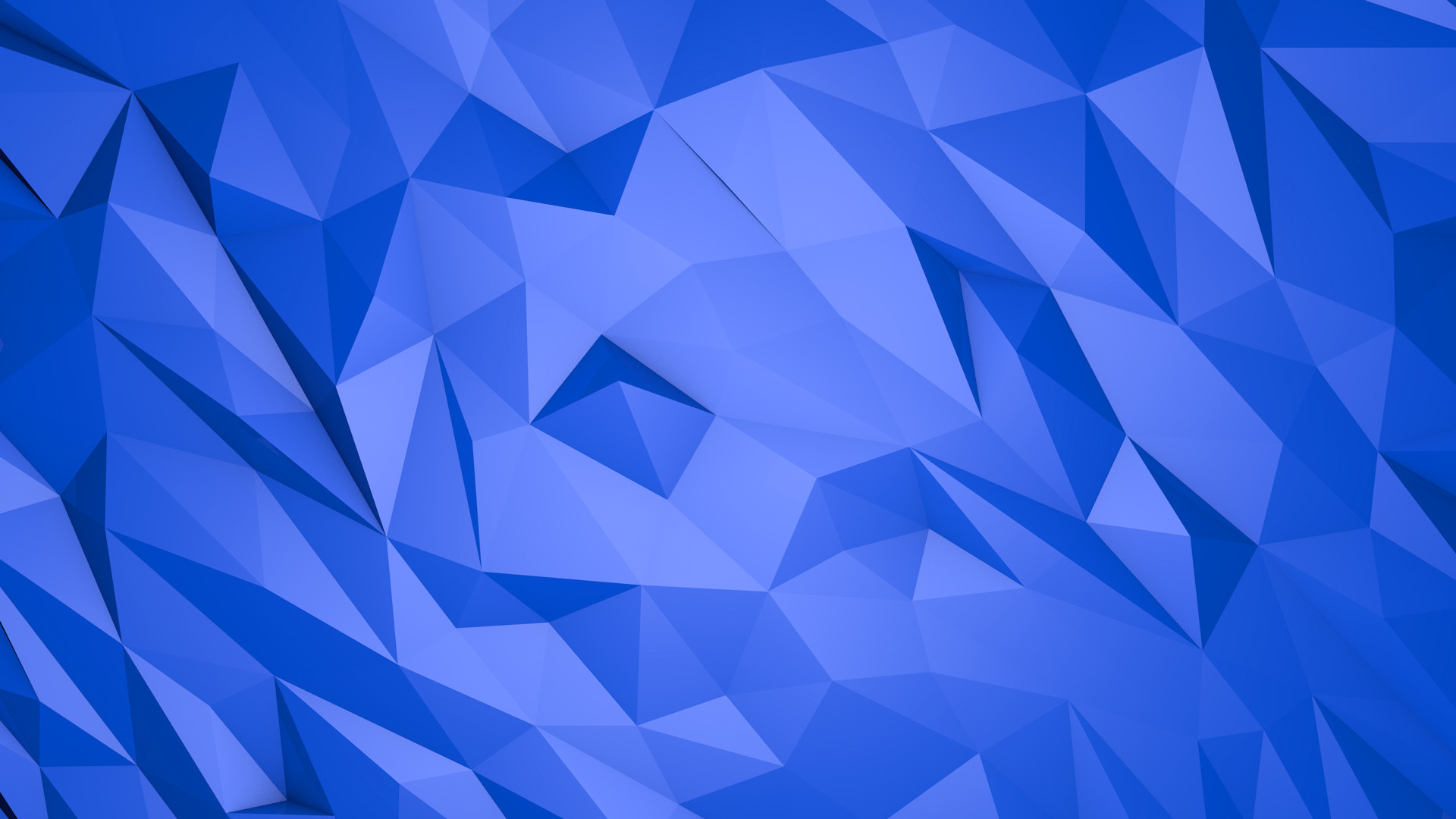 Abstract blue triangles – 3D wallpaper. Awesome 3D and HD rendered  Wallpapers. download beautiful