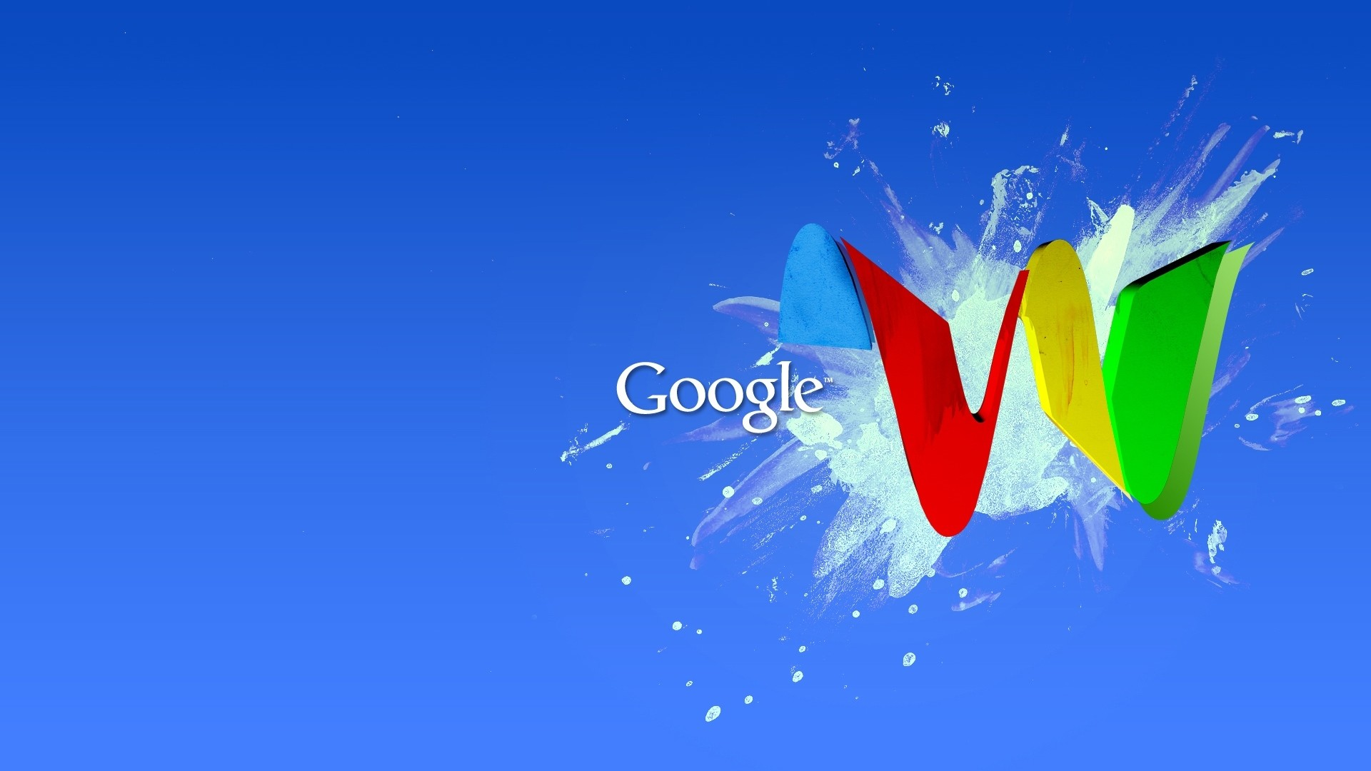 Wallpaper google, blue, red, yellow, green