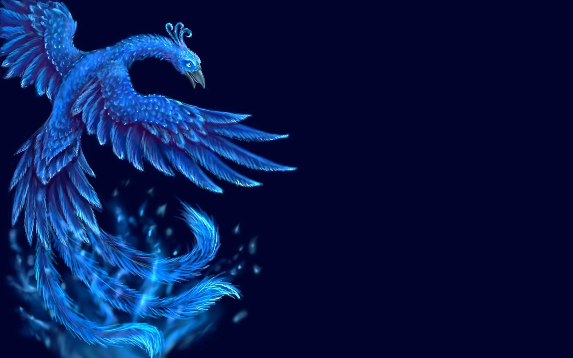 Blue Phoenix Wallpapers HD.