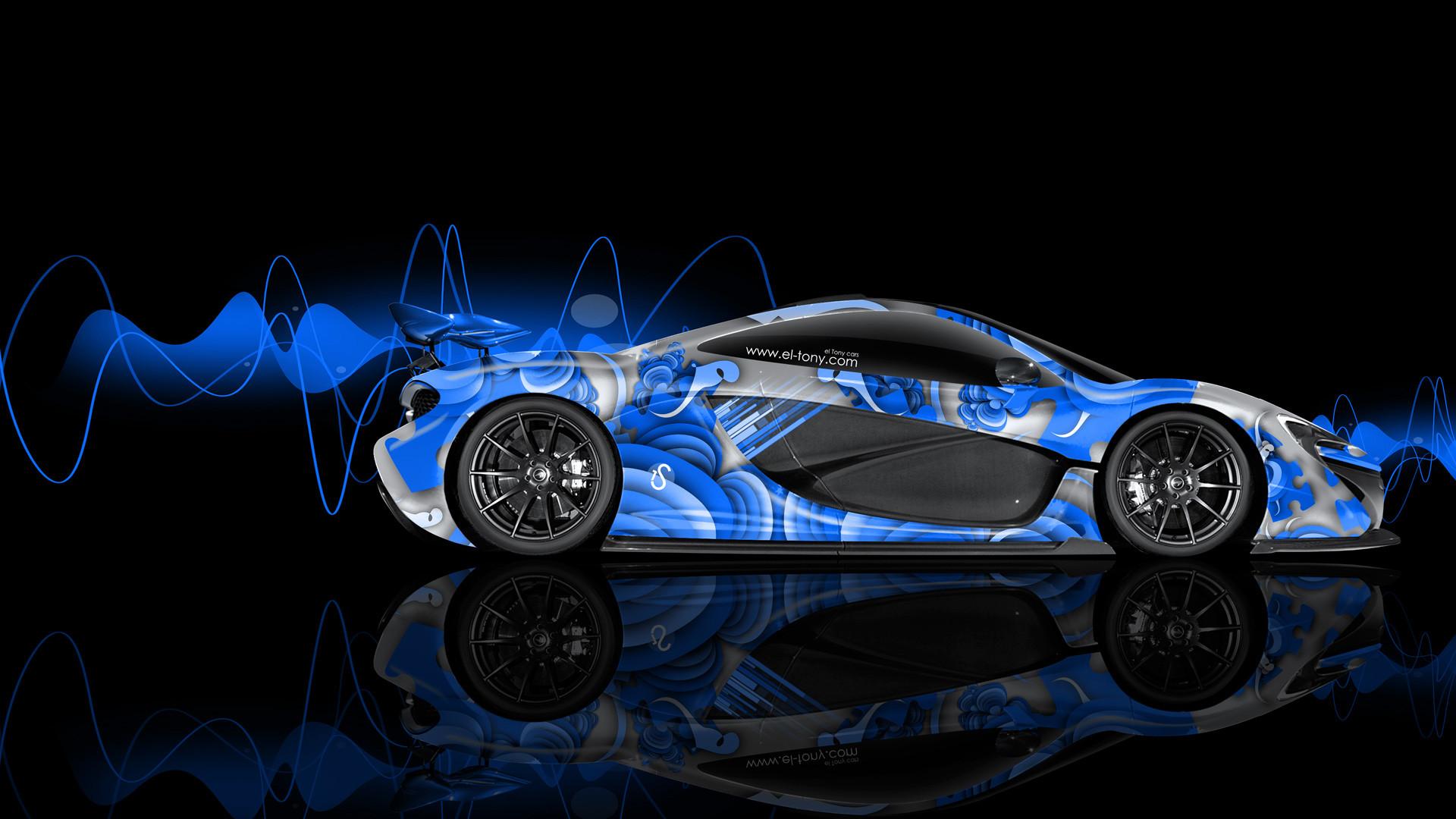 McLaren P1 in Blue wallpapers (35 Wallpapers)