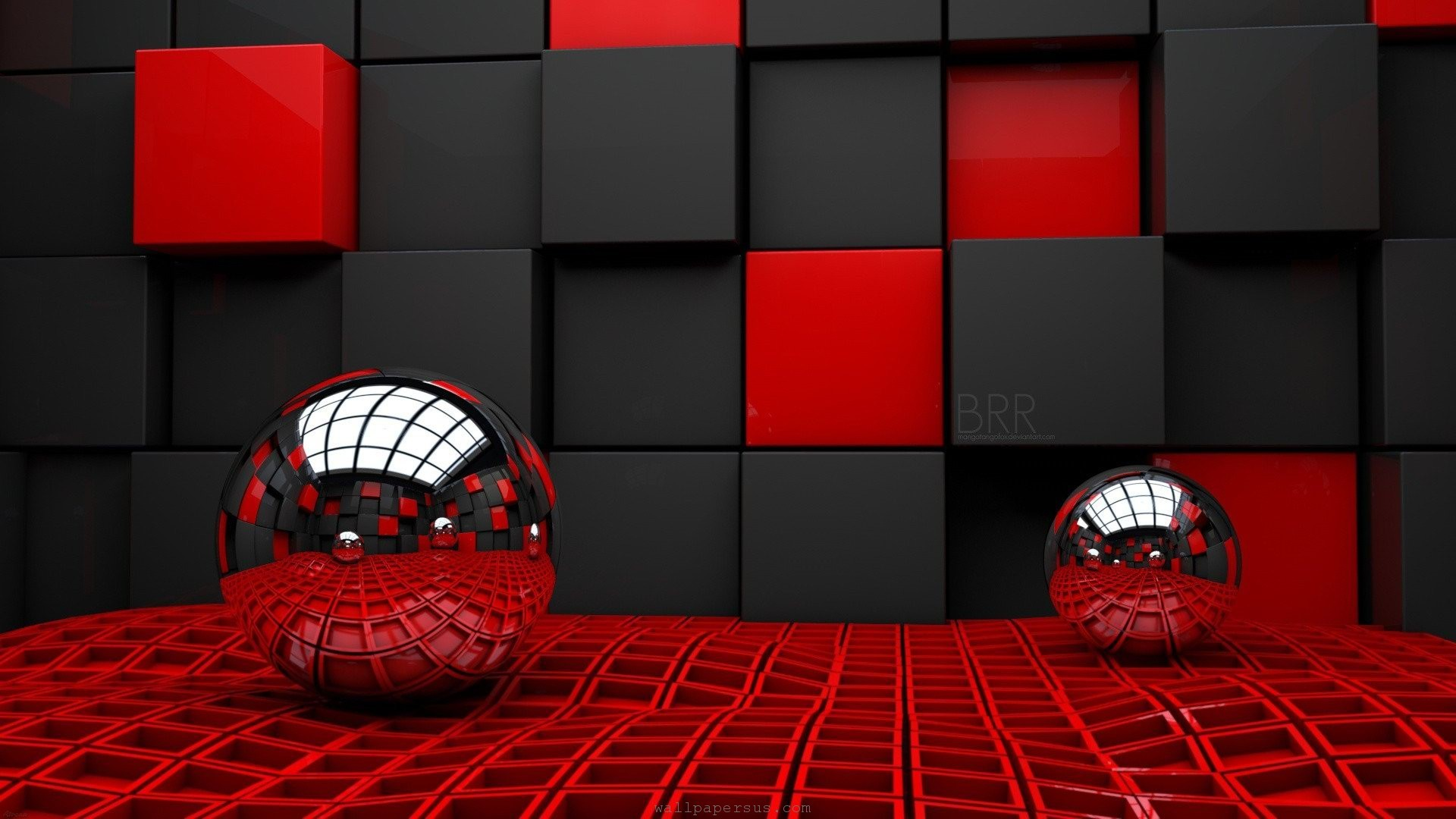… Black and Red Abstract Wallpaper Backgrounds 1335 | HD Wallpaper Site