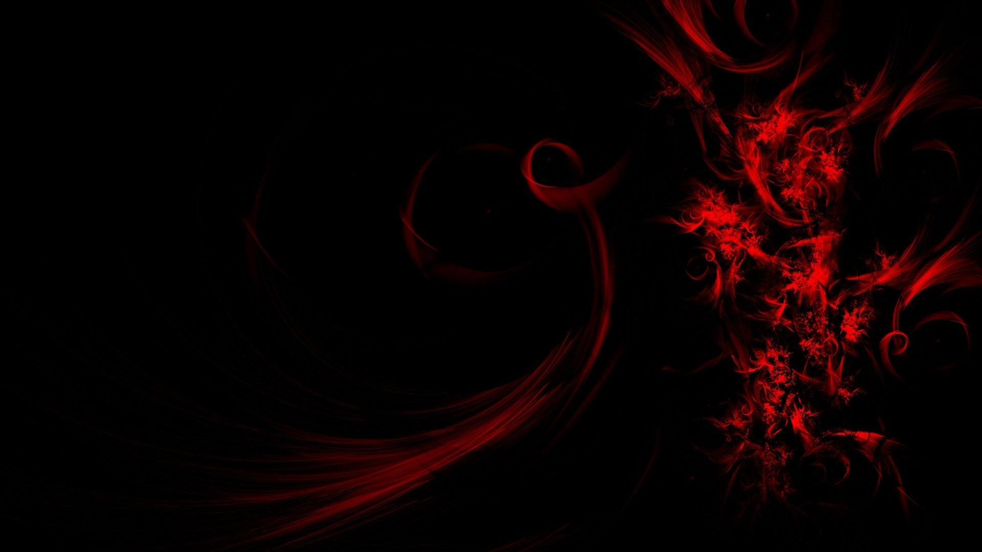Red Abstract 886256