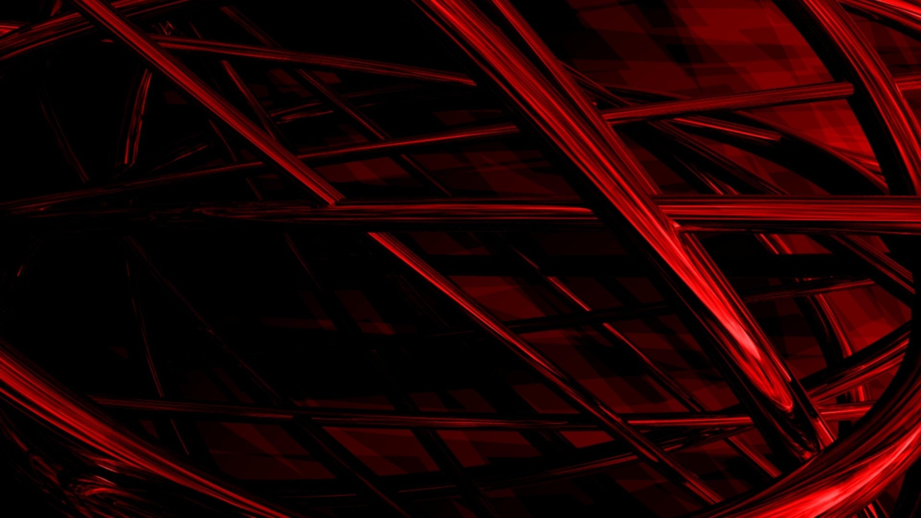 Wallpaper lines, woven, dark, shadow, red