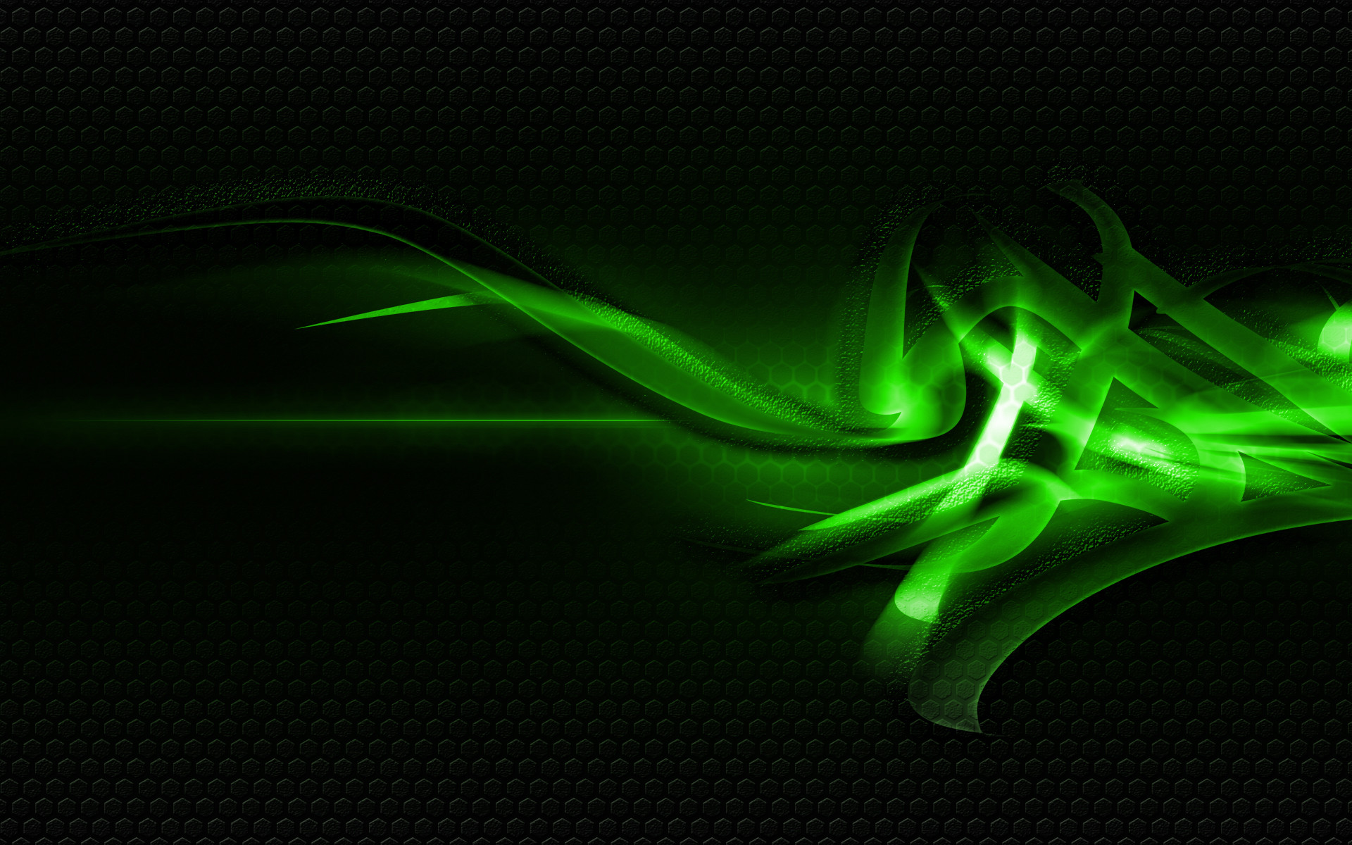 Green And Black Abstract Wallpaper 41 Background