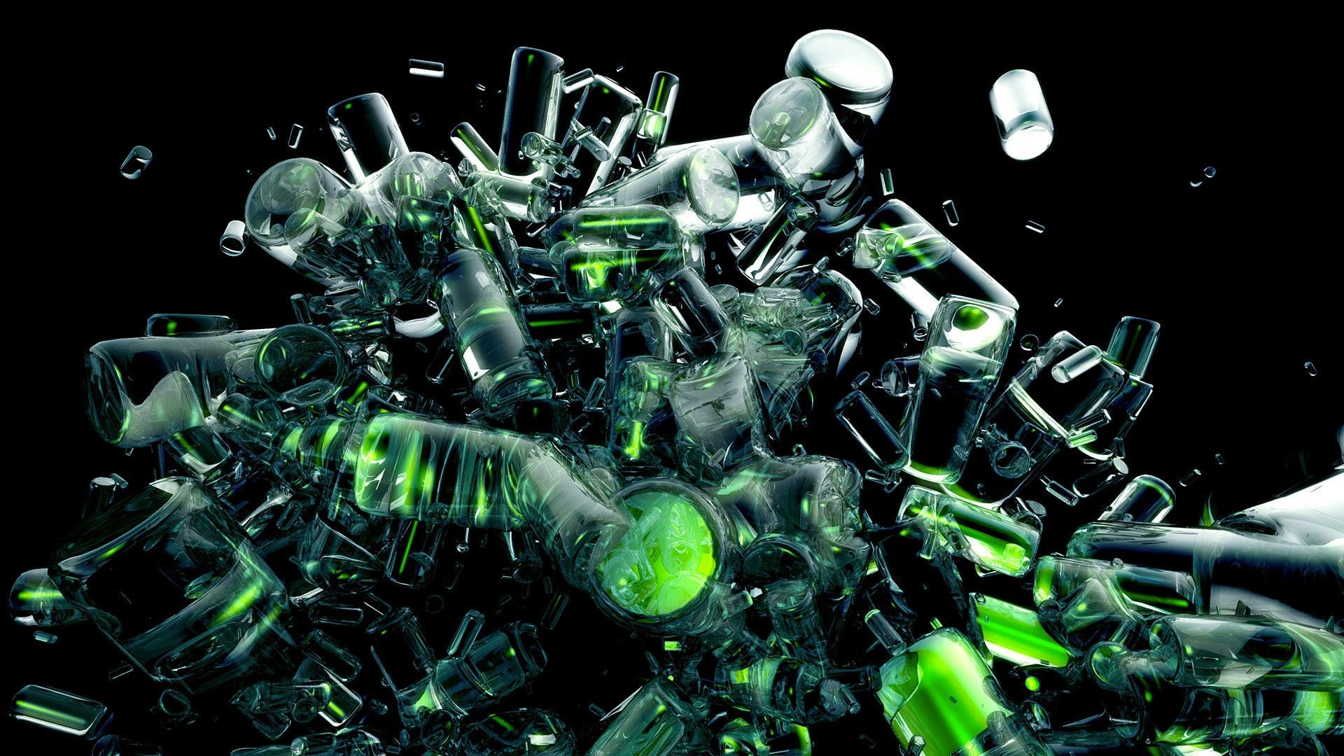 black-and-green-abstract-wallpapers-1920×1080