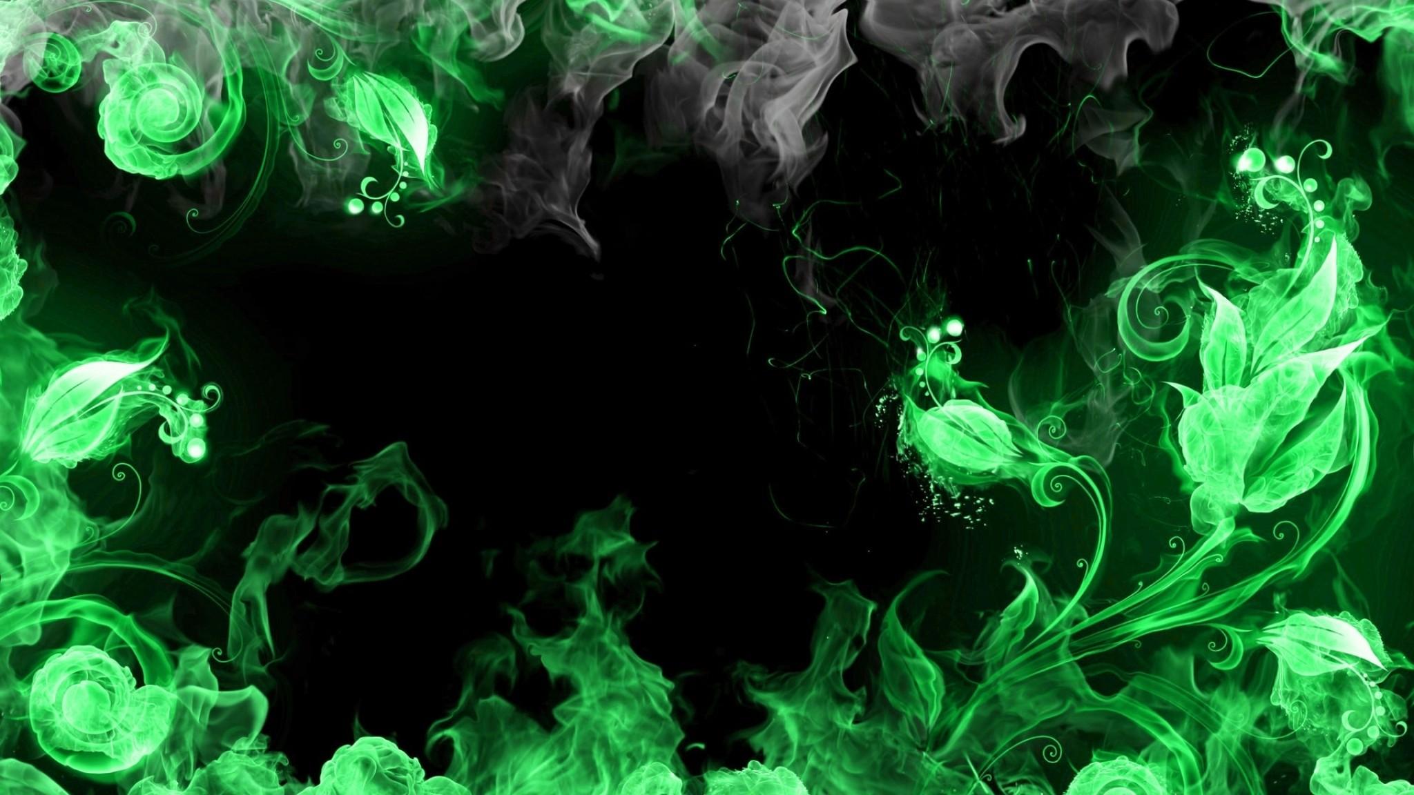 Preview wallpaper abstract, blue, smoke, black 2048×1152