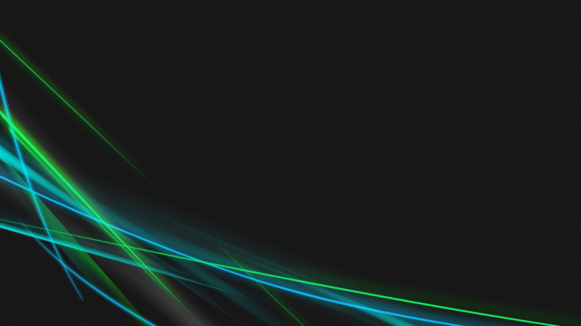 Blue and green neon curves wallpaper – 578863