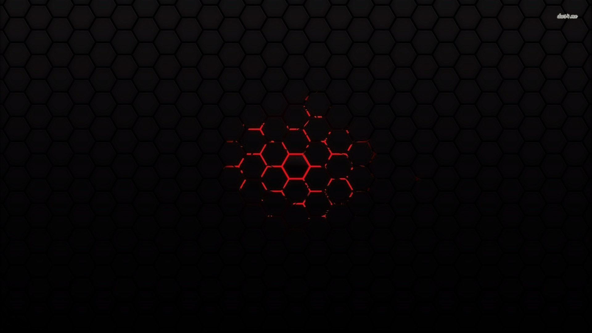 Red On Black Abstract Wallpaper – Wallpapers Magz