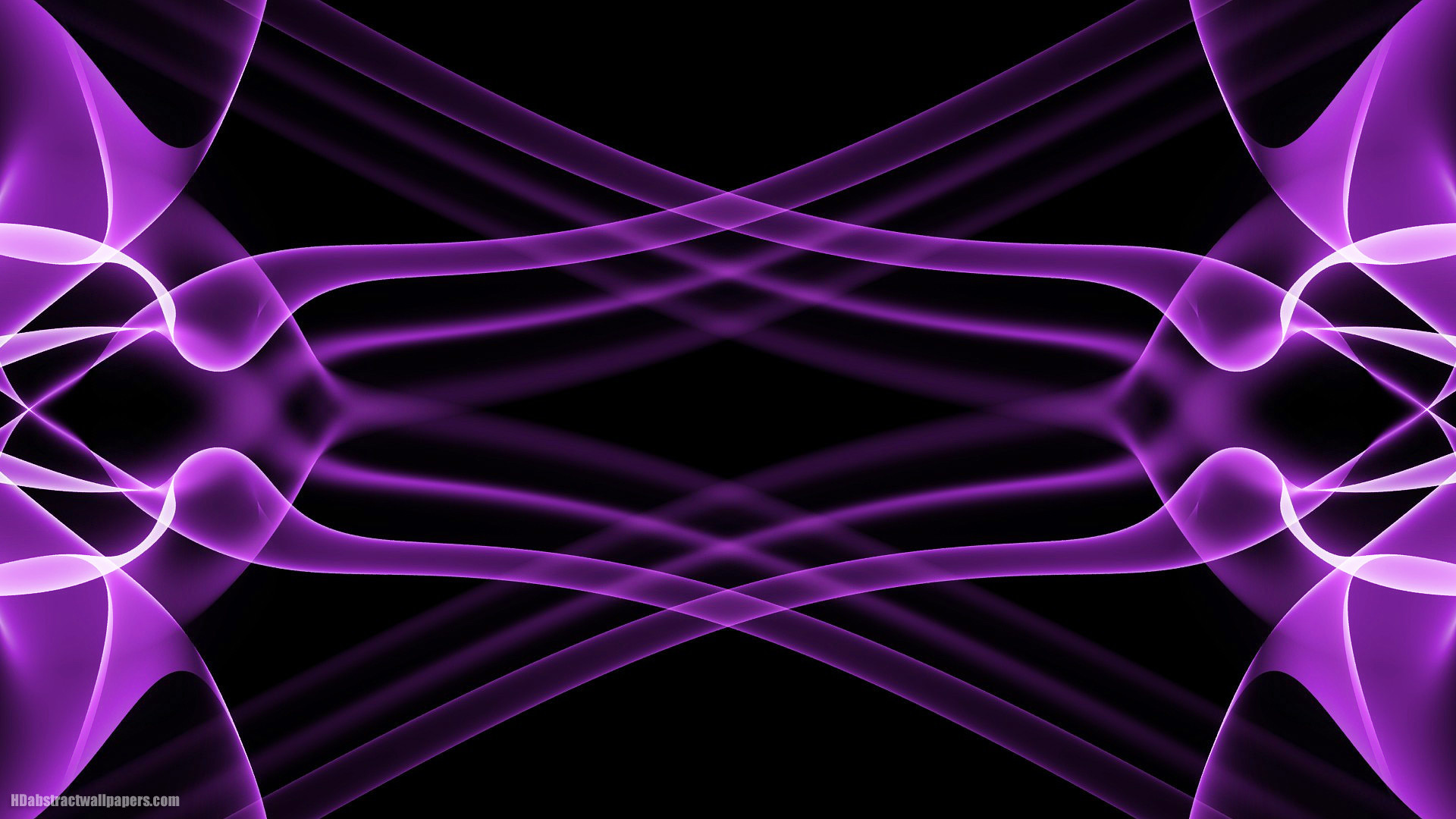 Abstract purple wallpaper with a black background. In HD quality resolution  1920×1080.