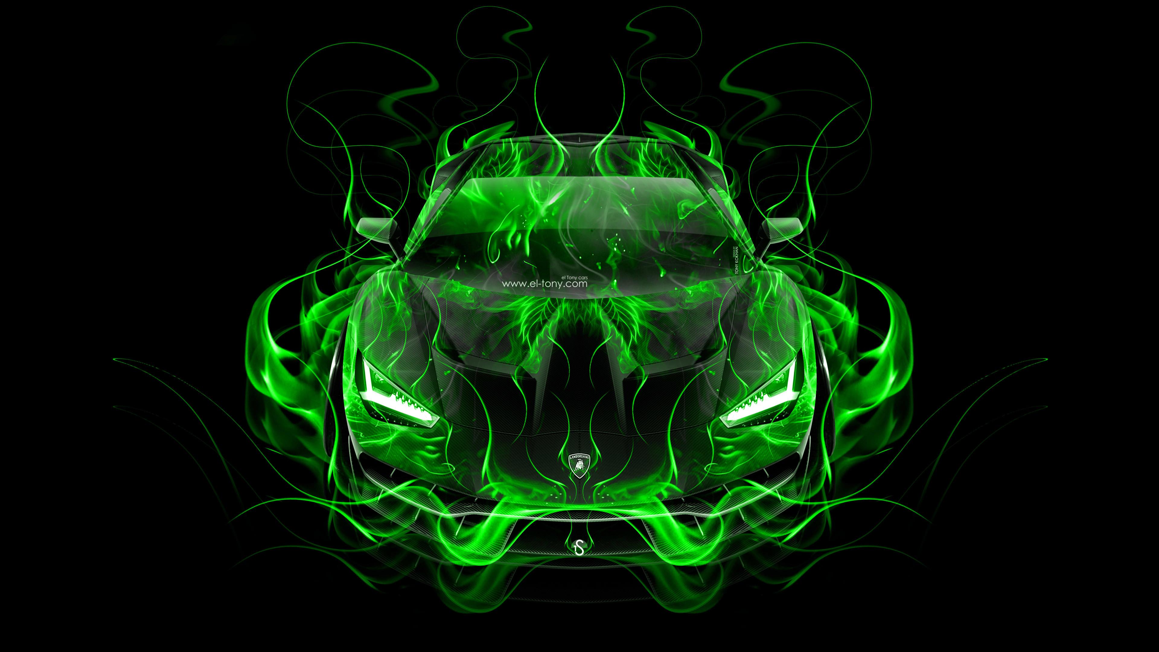 … Lamborghini-Centenario-FrontUp-Super-Fire-Flame-Abstract-Car- …