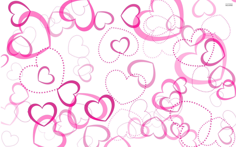 Pink Hearts Wallpaper Jpg