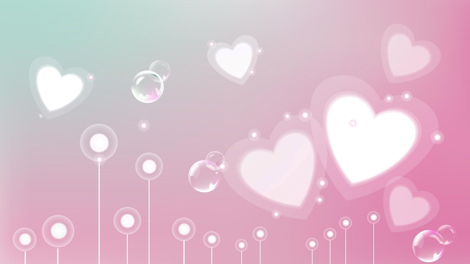 Wallpaper backgrounds · pink heart …