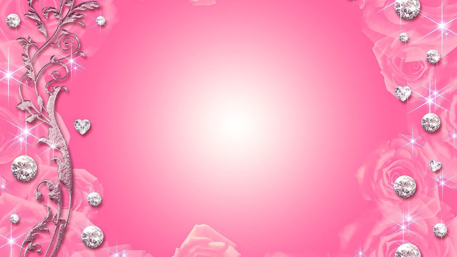 diamond Pink-Wallpaper