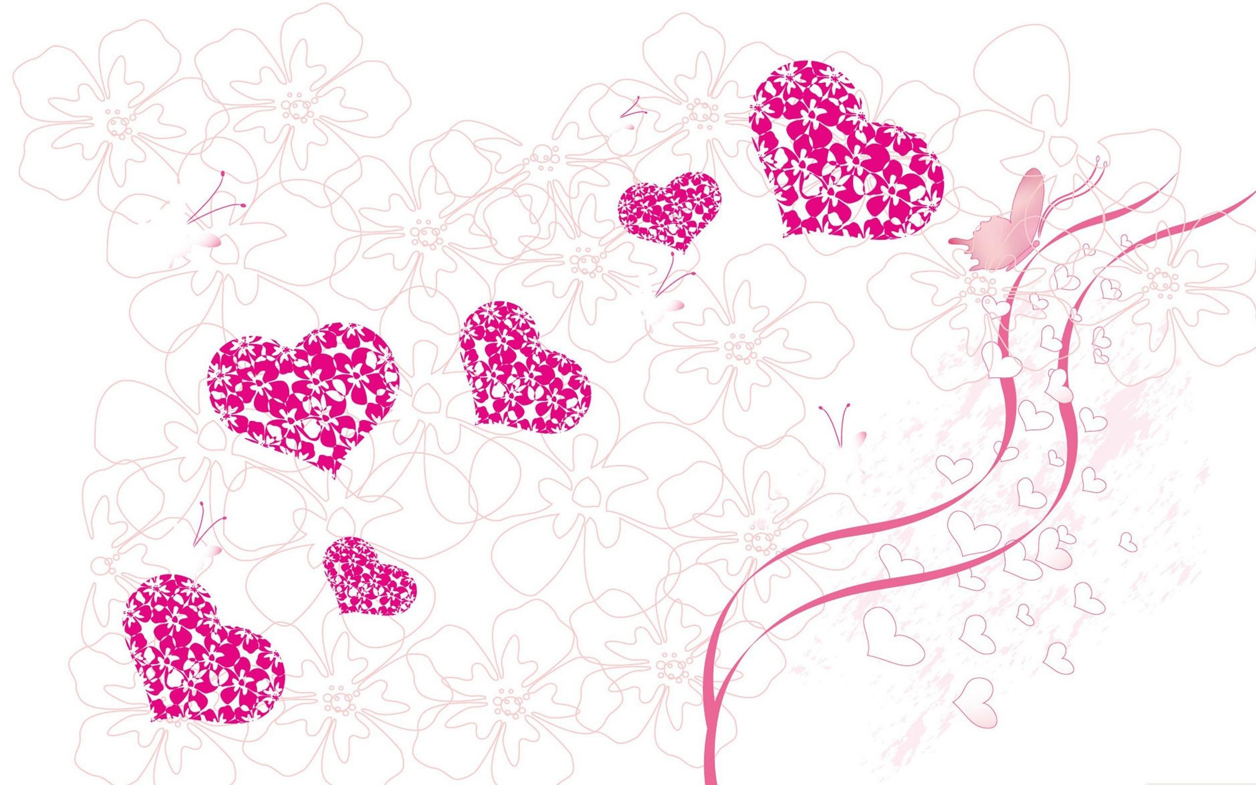 Love Design Pink Heart