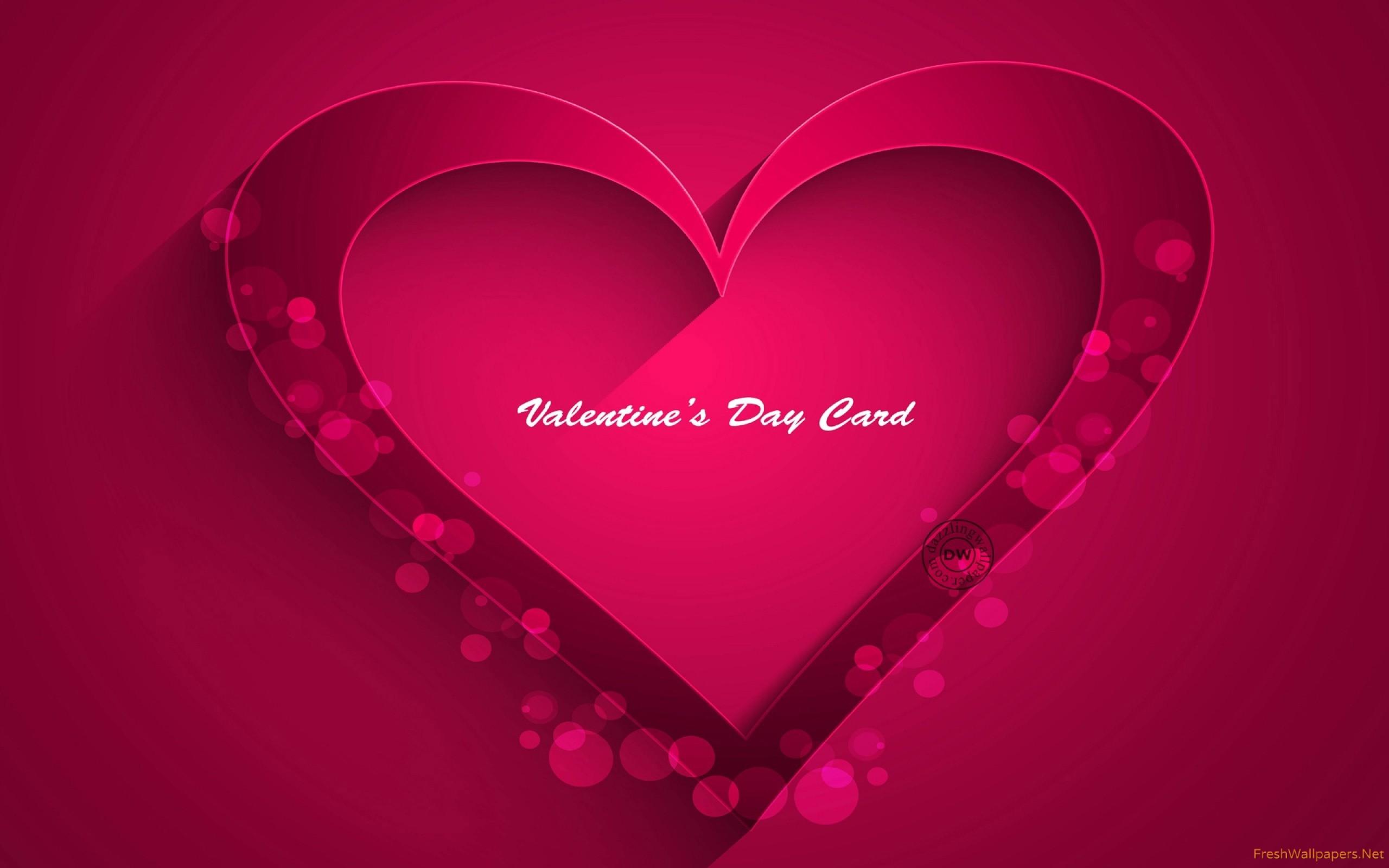 pink-heart- Wallpaper: 2560×1600