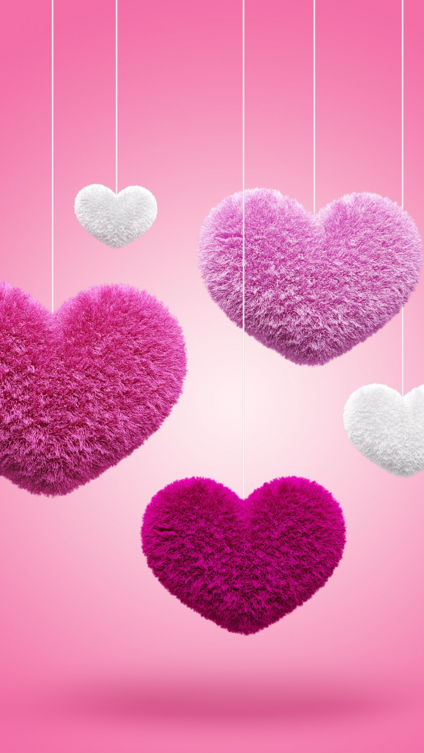 … red love hearts wallpapers mobile quad hd …