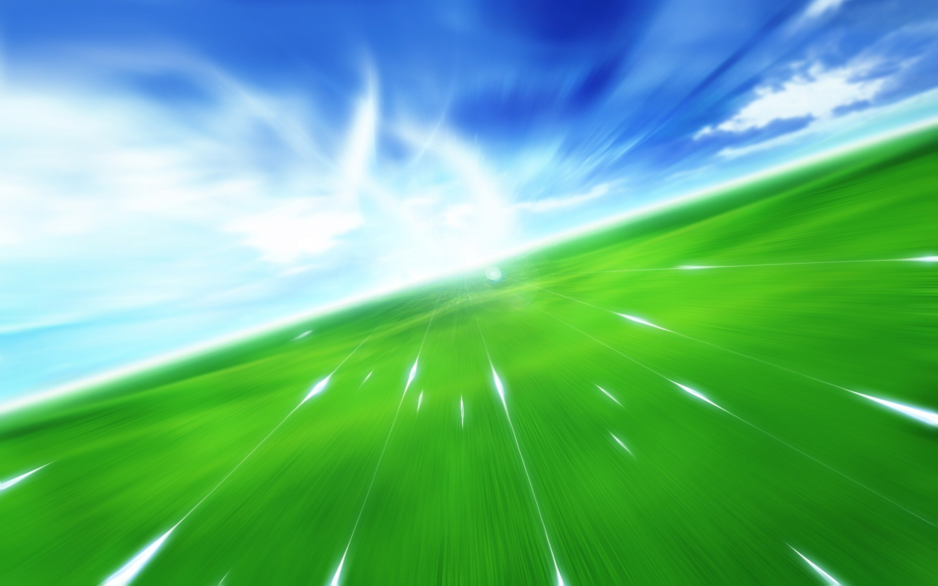 Speed Up Wallpaper Abstract 3D