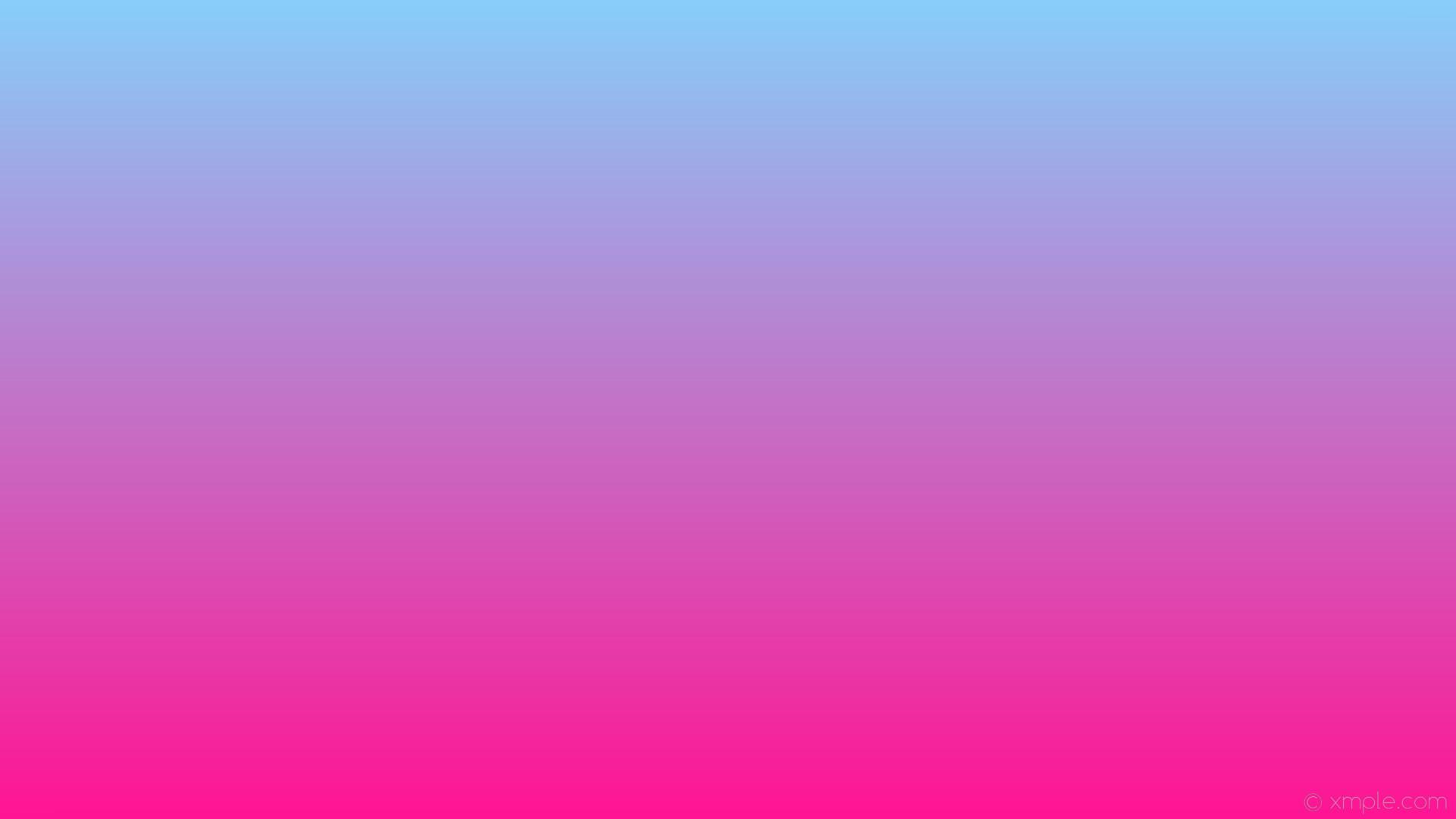 wallpaper blue linear gradient pink deep pink light sky blue #ff1493  #87cefa 270°